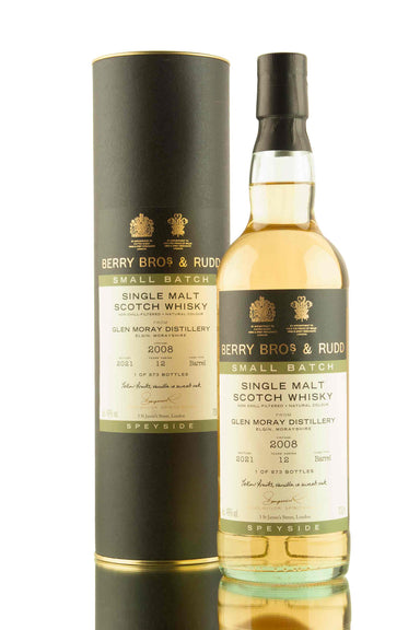 Glen Moray 12 Year Old - 2008 | Small Batch | Berry Bros & Rudd | Abbey Whisky