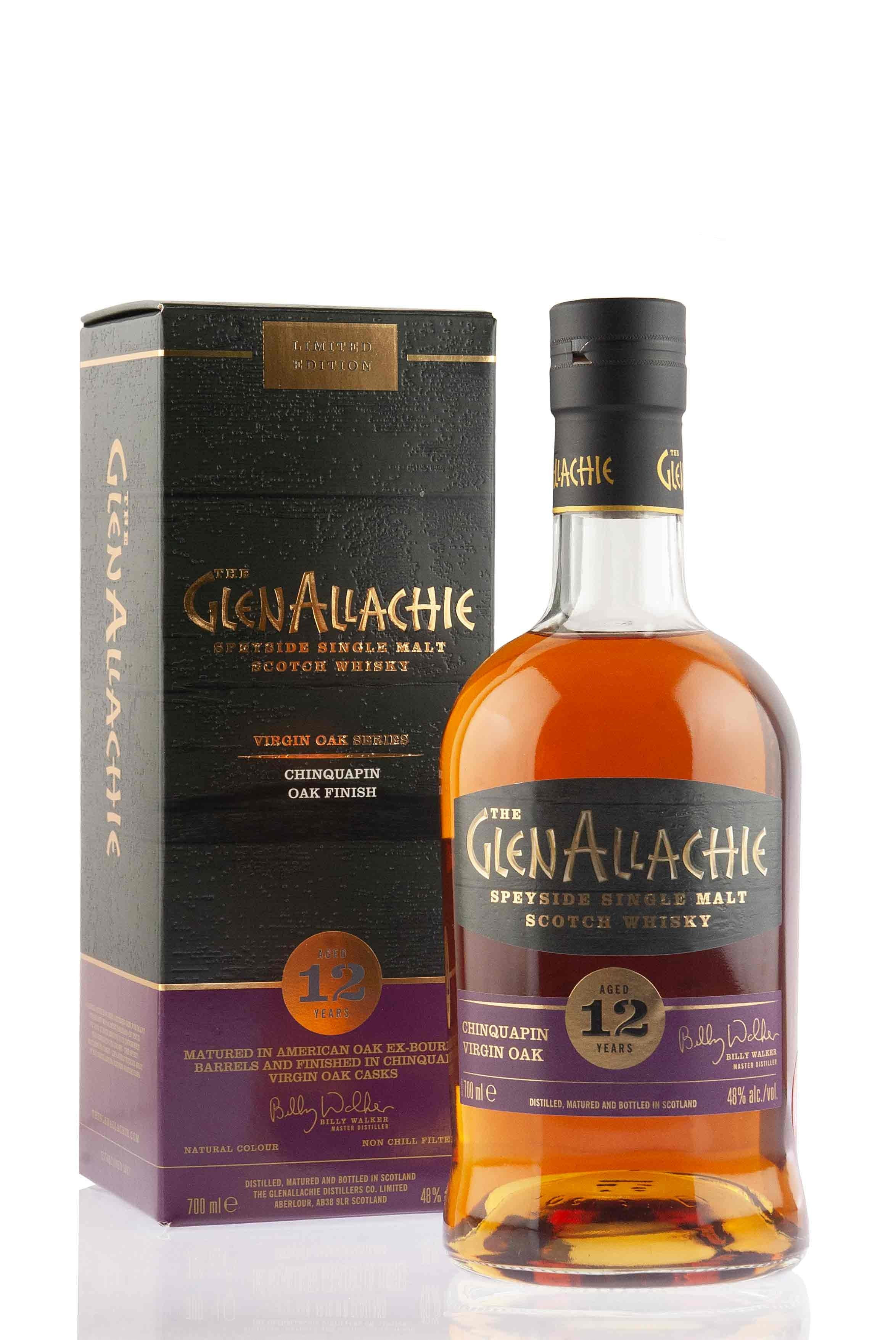 GlenAllachie 12 Year Old | Chinquapin Virgin Oak Finish