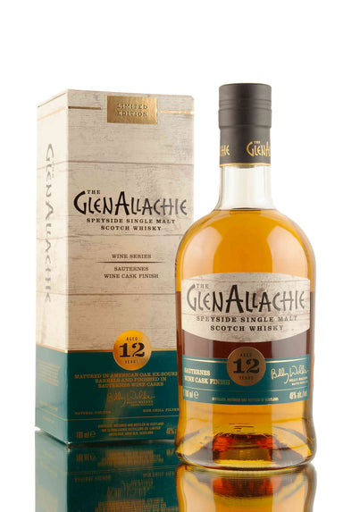 GlenAllachie 12 Year Old Sauternes Wine Finish | Abbey Whisky