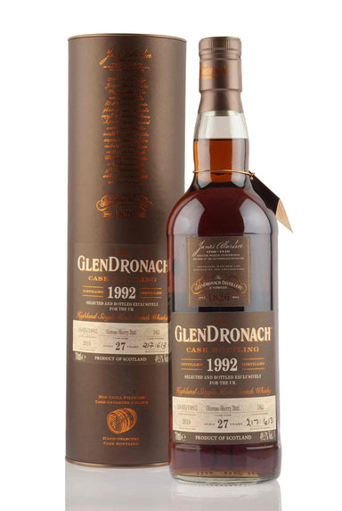 GlenDronach 27 Year Old - 1992 | Cask 182 | UK Exclusive | Abbey Whisky