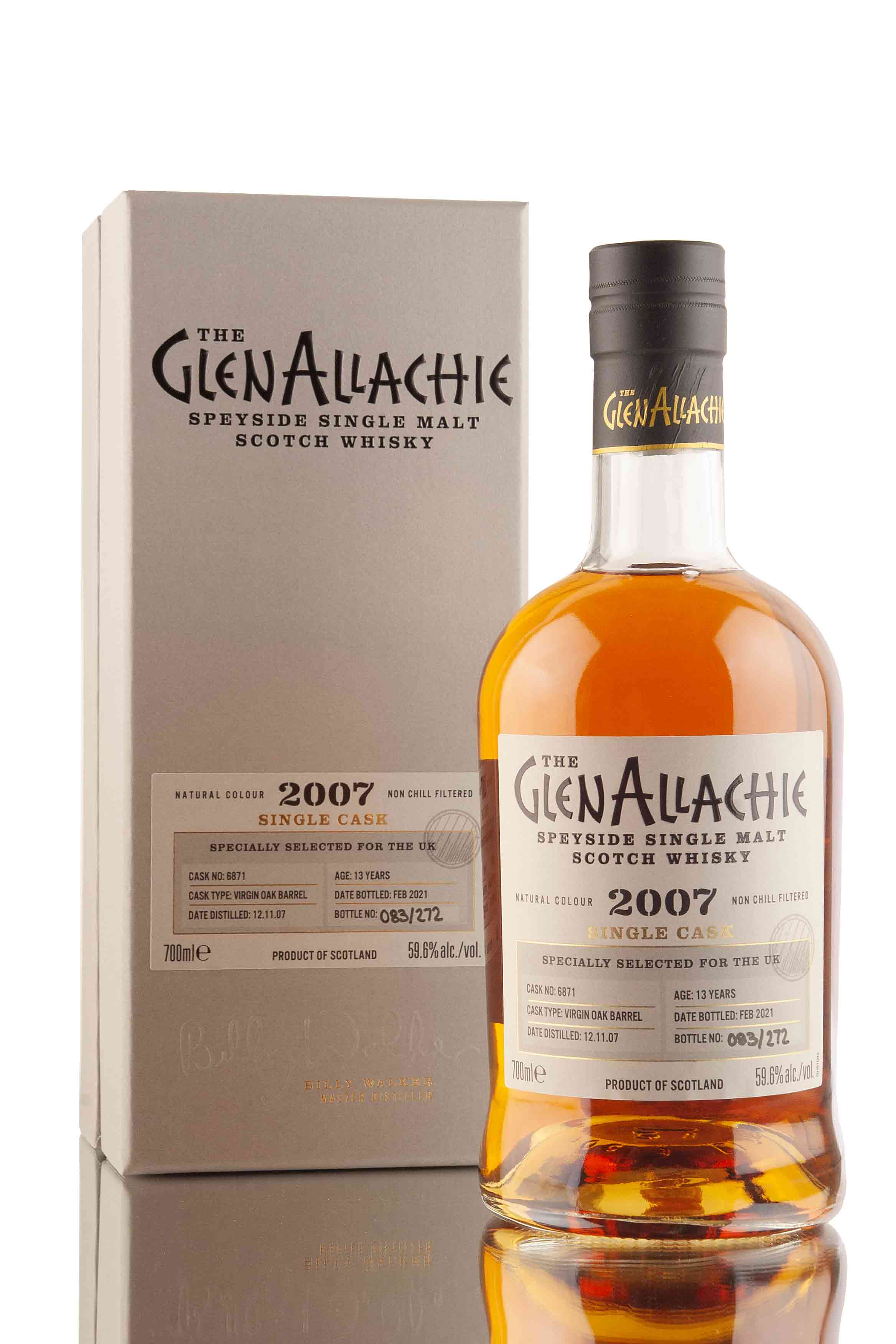 GlenAllachie 13 Year Old - 2007 | UK Exclusive Single Cask #6871 | Abbey Whisky