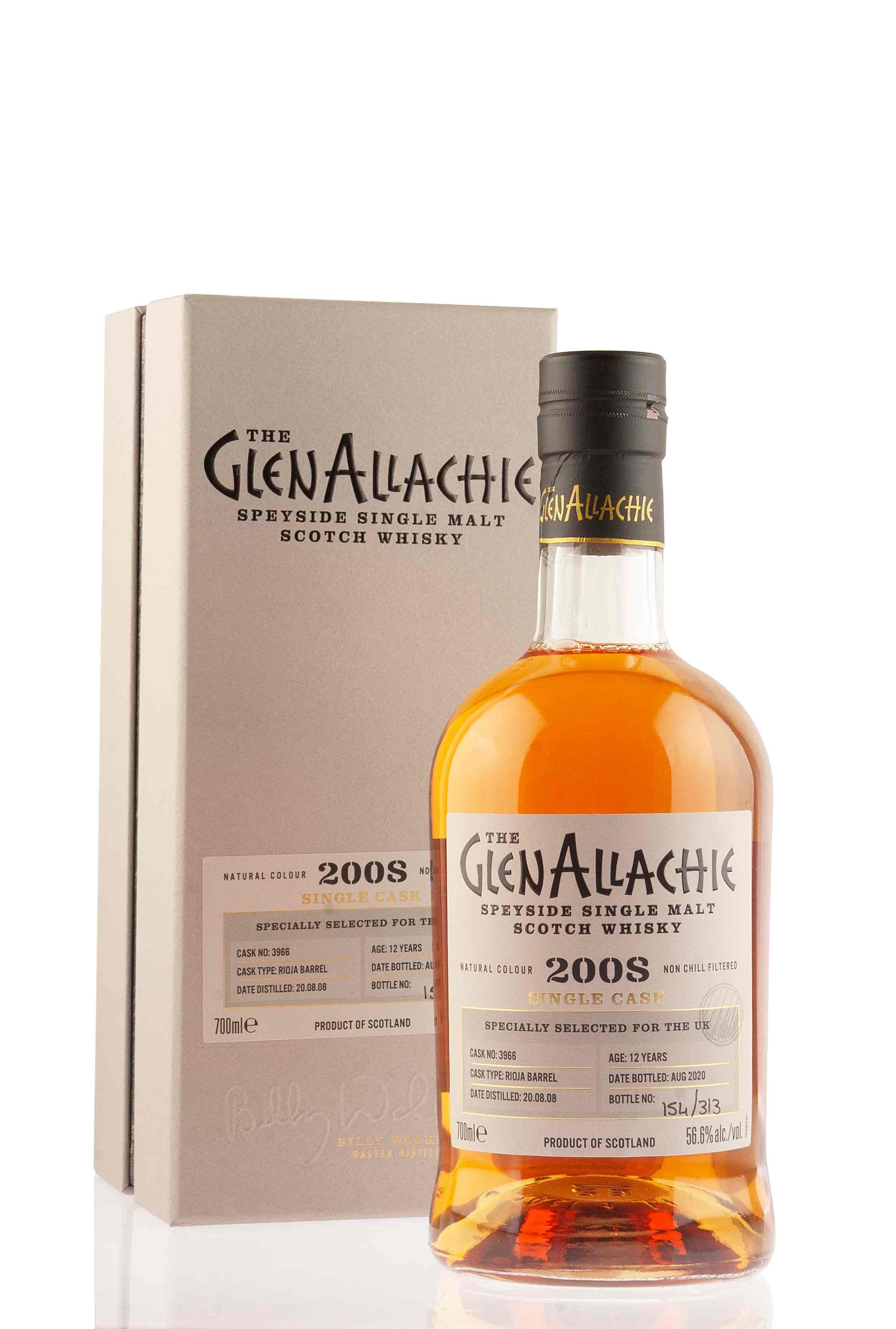 GlenAllachie 12 Year Old - 2008 | Cask 3966 | UK Batch 3