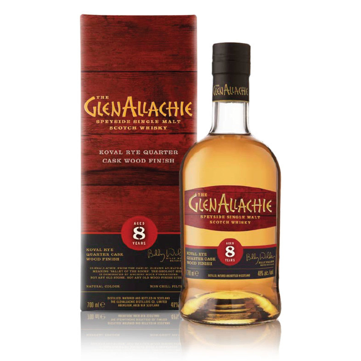 GlenAllachie 8 Year Old Koval Quarter Cask