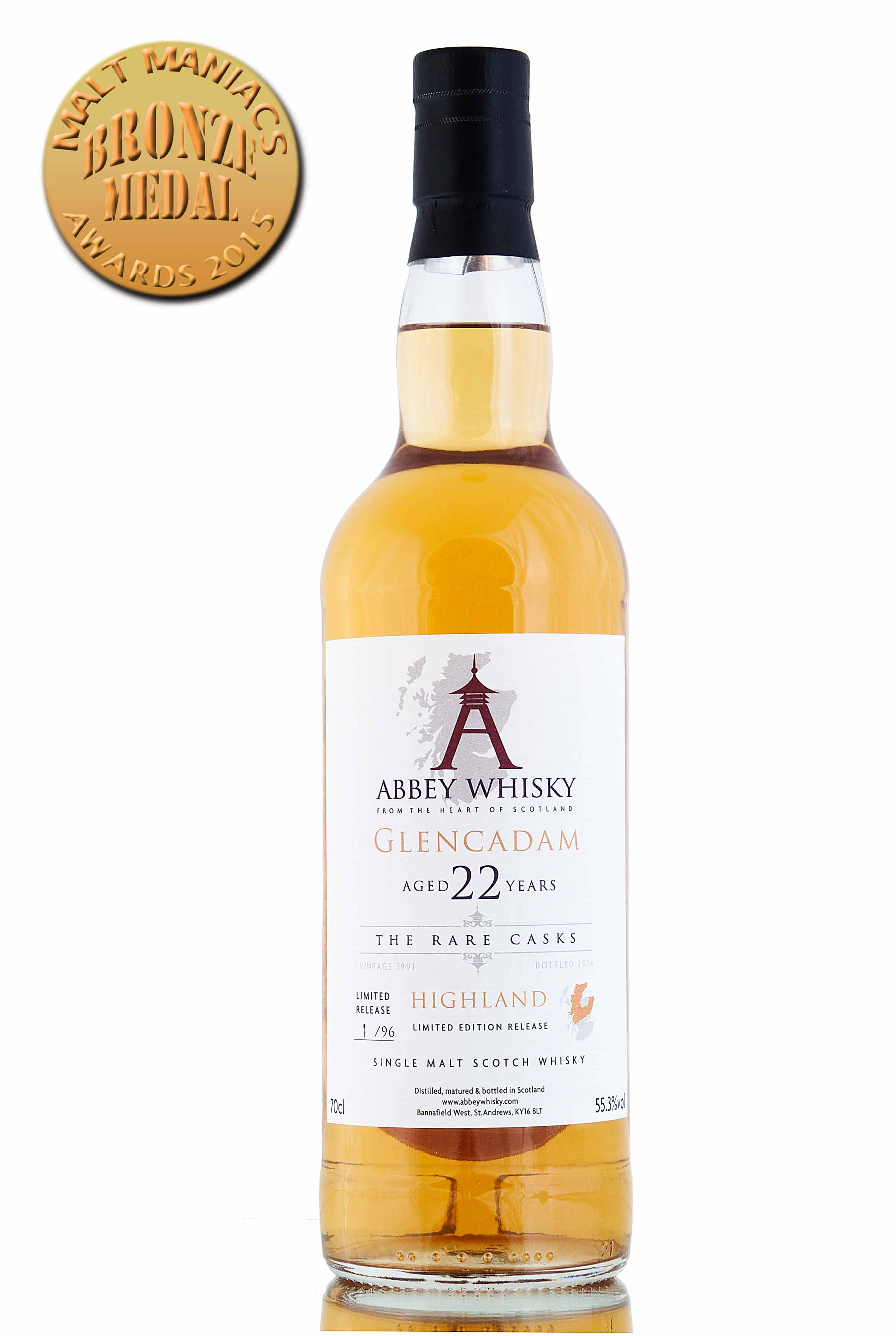 Glencadam 22 Year Old / The Rare Casks / Release 4