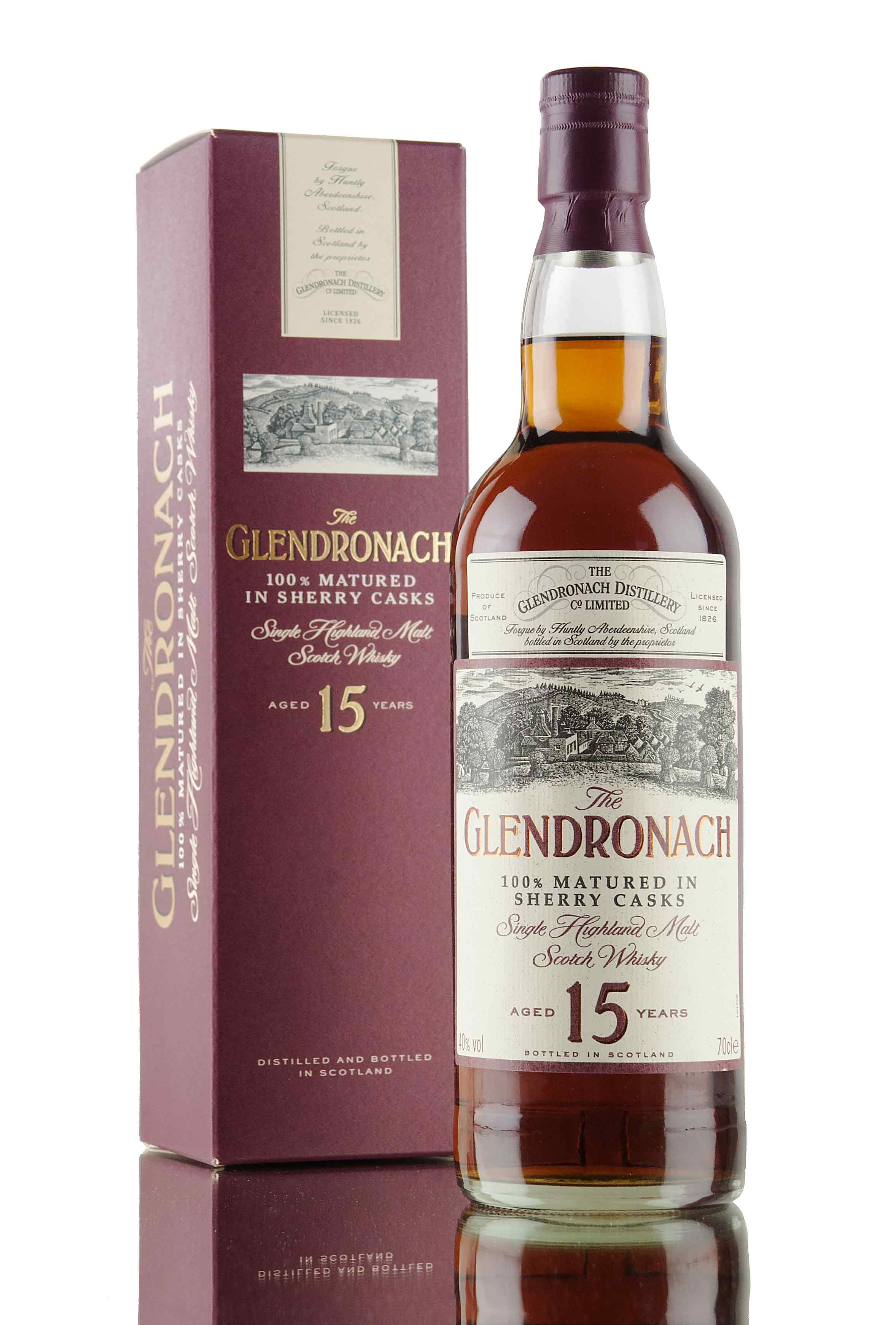 GlenDronach 15 Year Old - 1990's Bottling