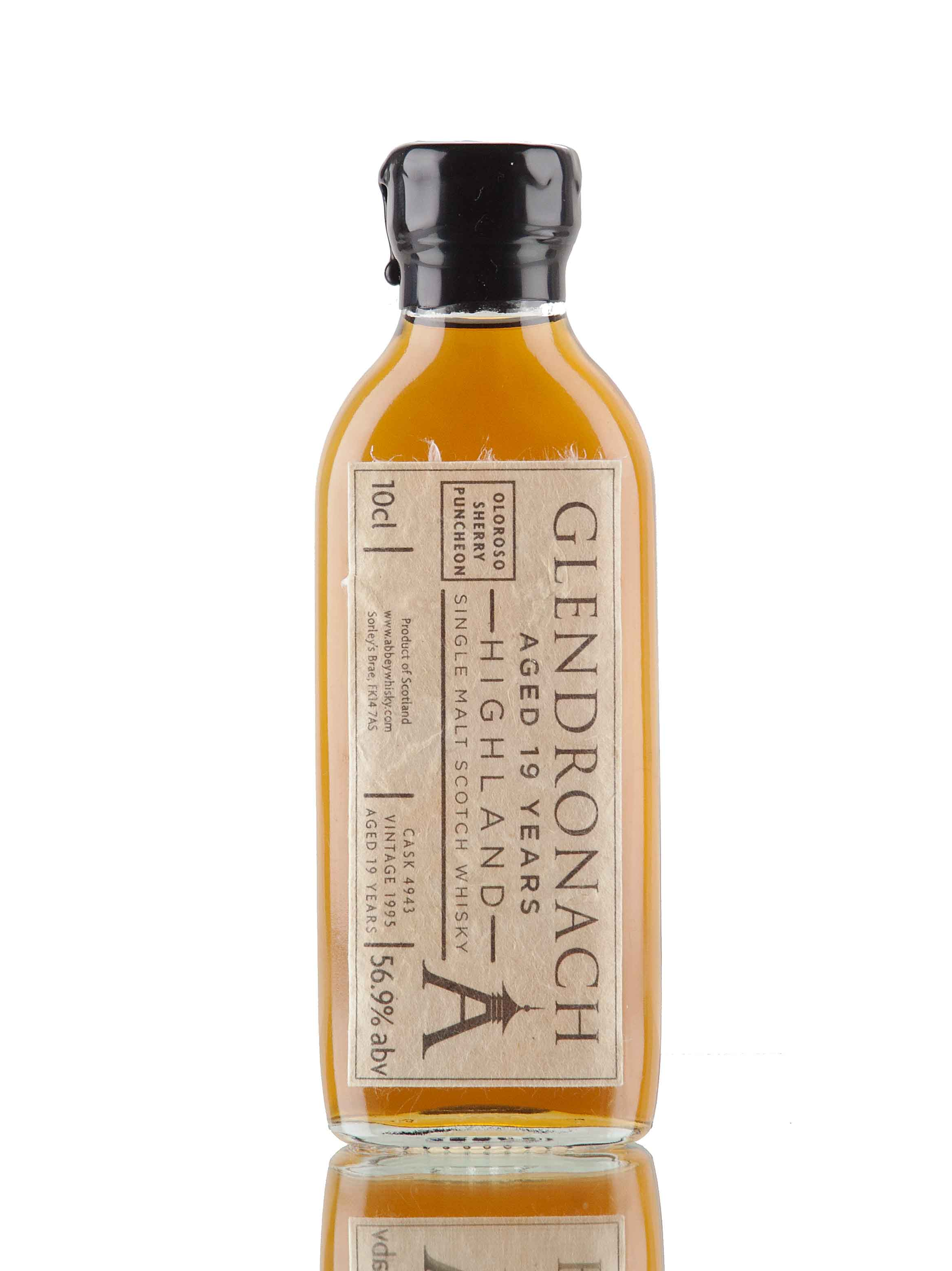 GlenDronach 19 Year Old - 1995 / Cask 4943 / 10cl Sample