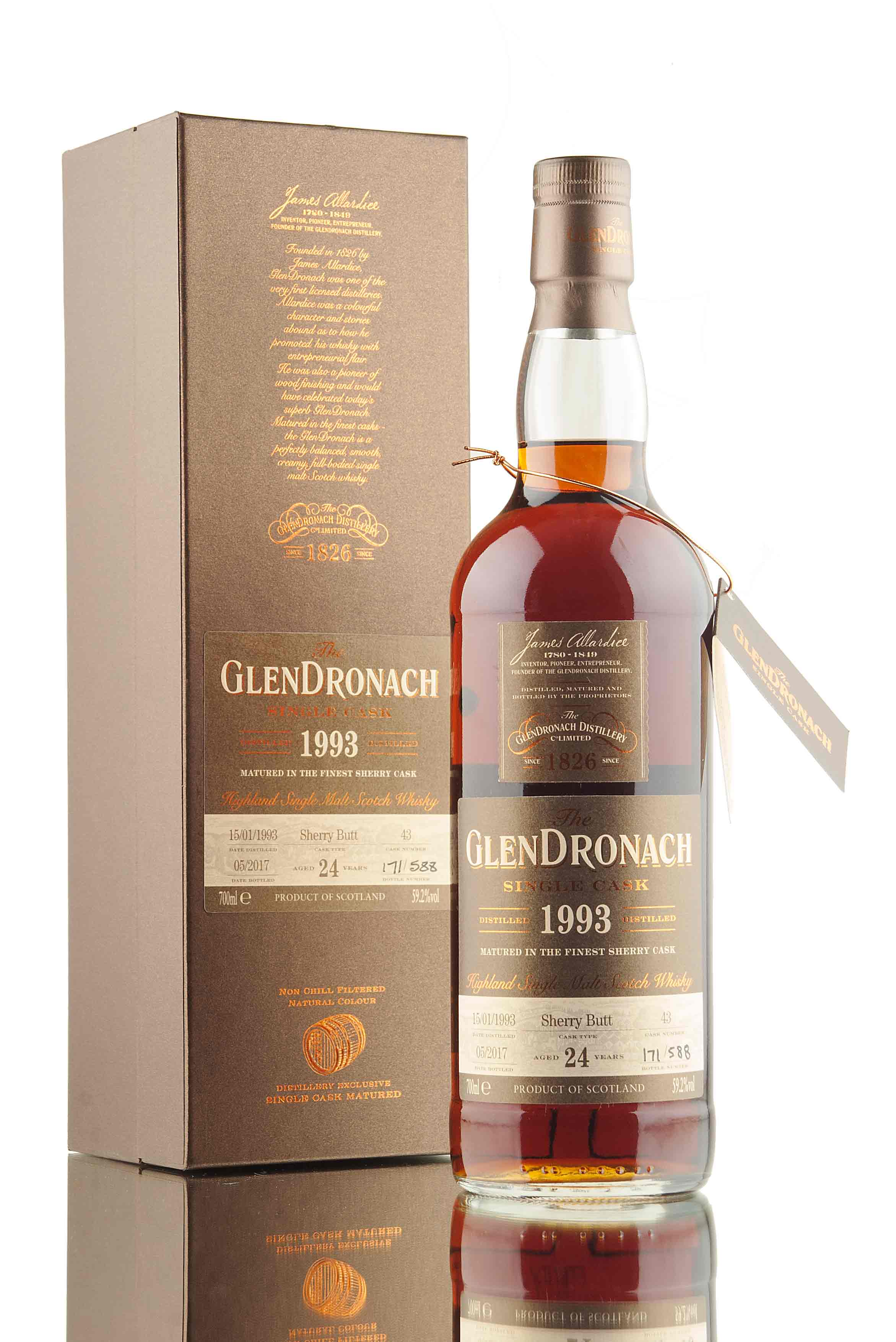 GlenDronach 24 Year Old - 1993 | Single Cask 43 | Batch 15
