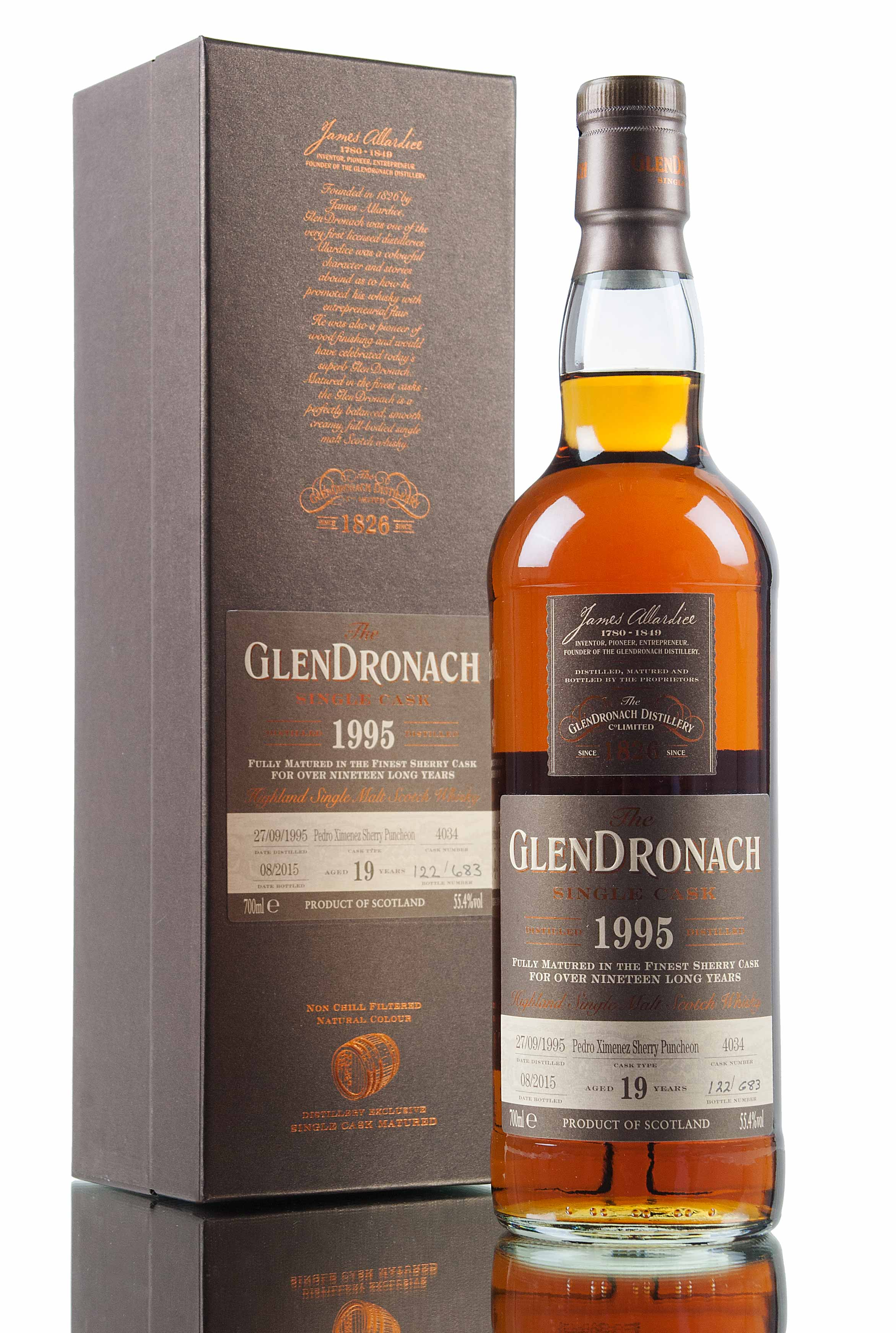 GlenDronach 1995 19 Year Old Cask 4034 / Batch 12