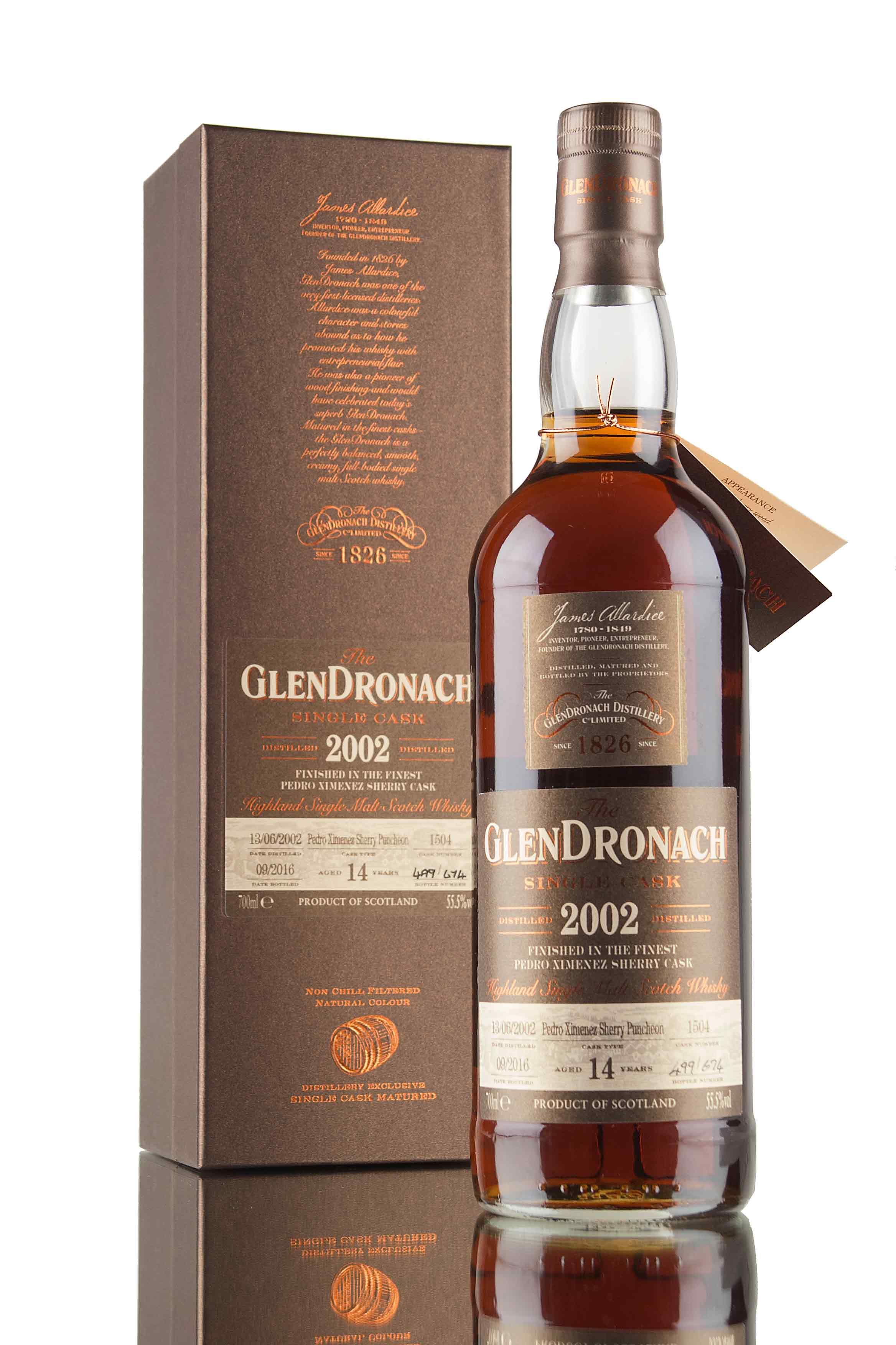 GlenDronach 14 Year Old - 2002 / Single Cask 1504 / Batch 14