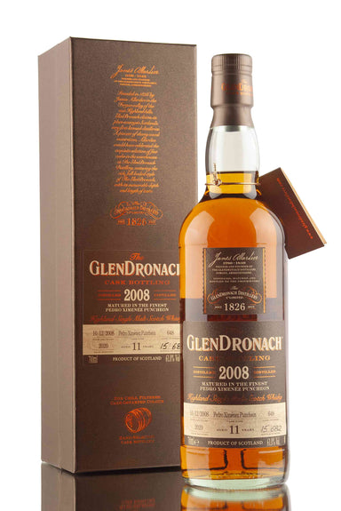 GlenDronach 11 Year Old - 2008 | Cask 648 | UK Batch 18 | Abbey Whisky