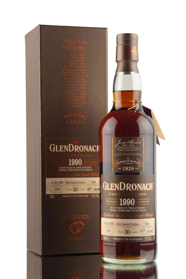 GlenDronach 30 Year Old - 1990 | Cask 7006 | UK Batch 18 | Abbey Whisky