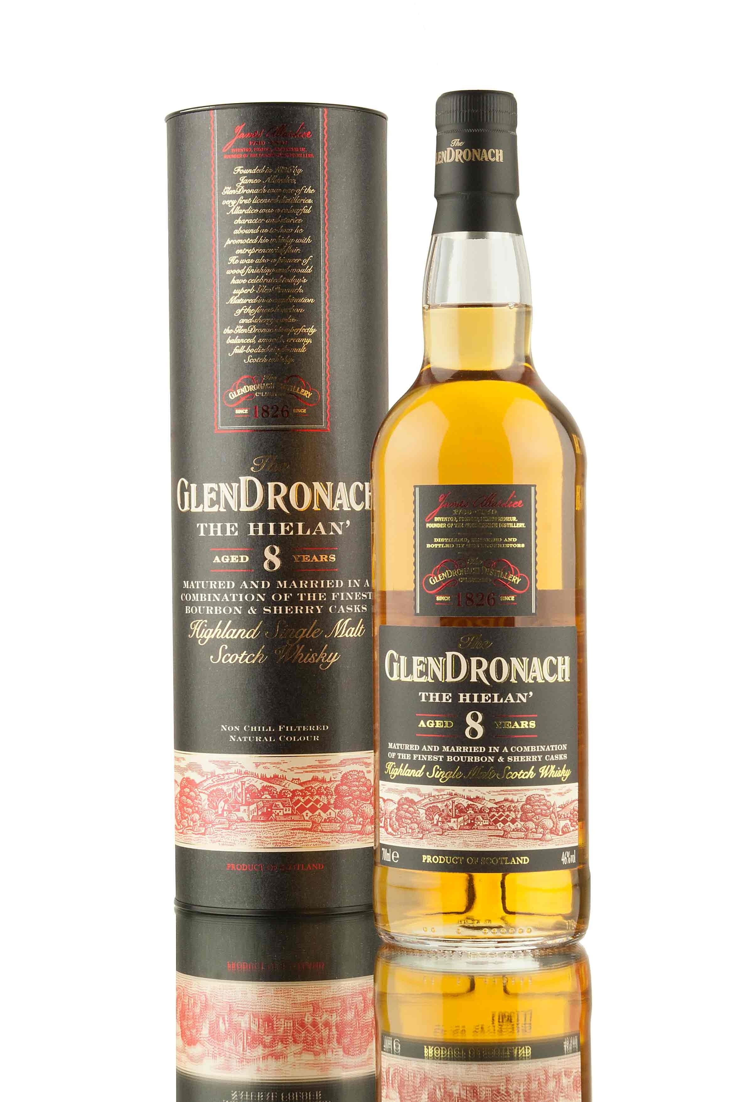 Glendronach The Hielan 8 Year Old