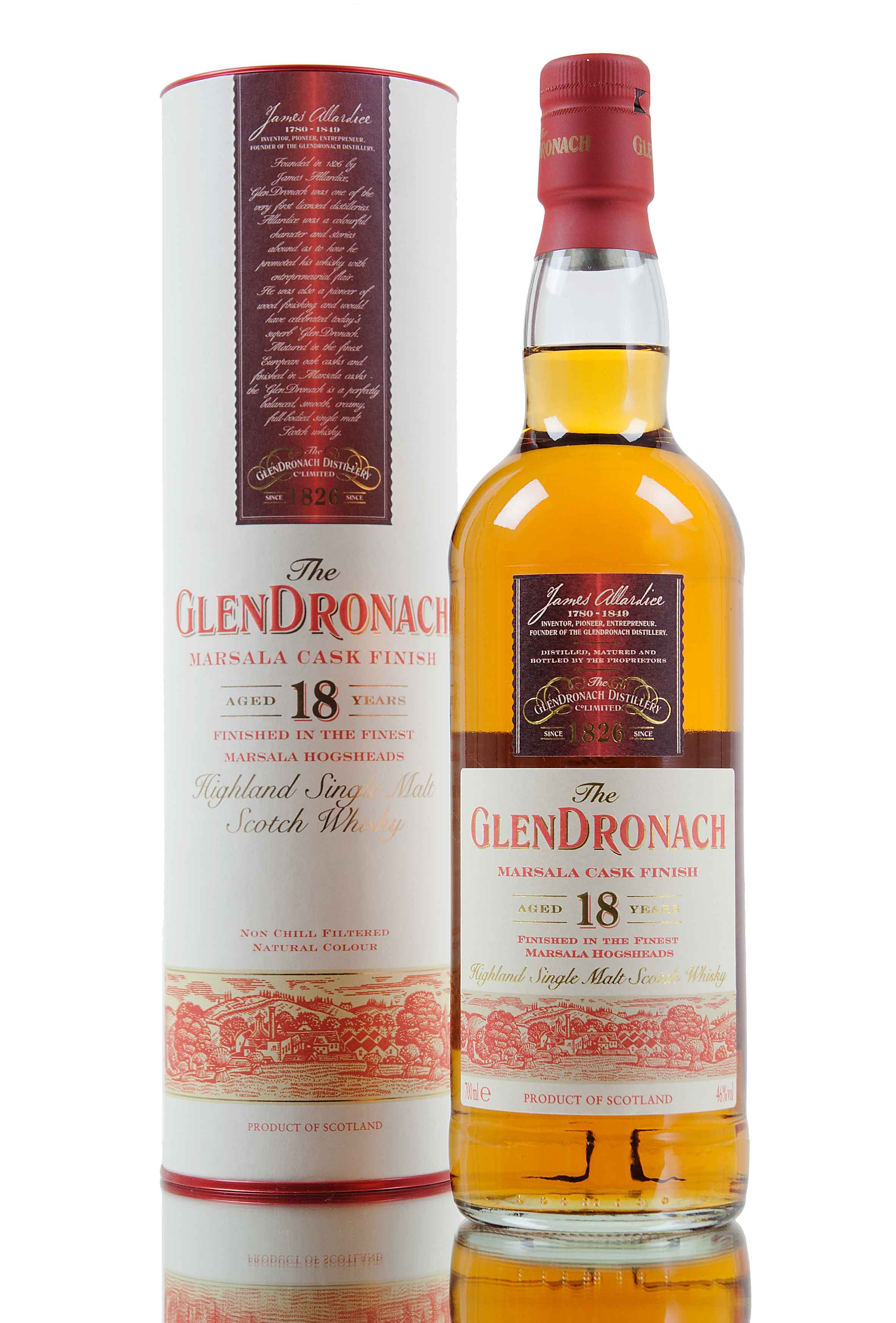 Glendronach 18 Year Old Marsala Finish