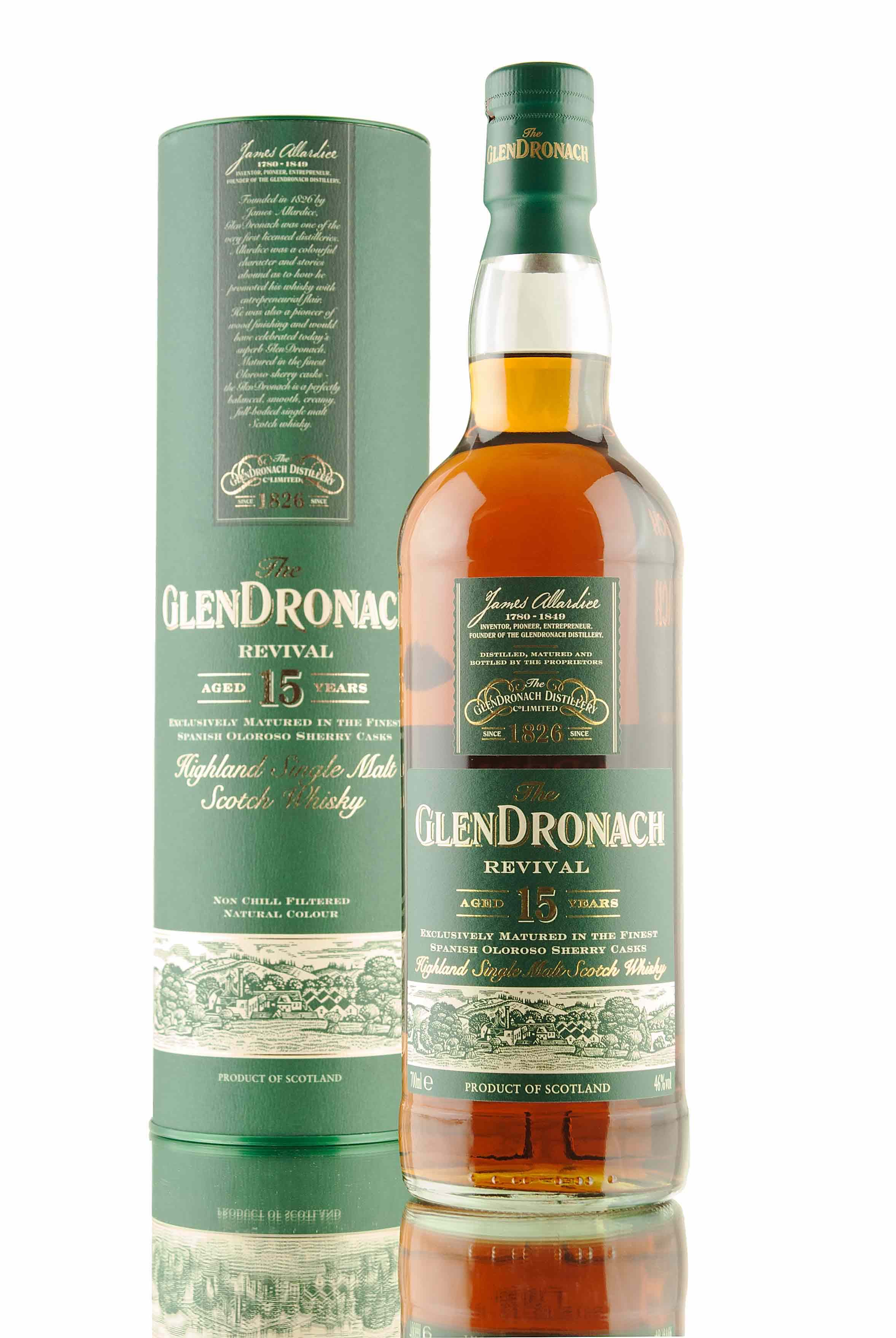 GlenDronach Revival / 15 Year Old