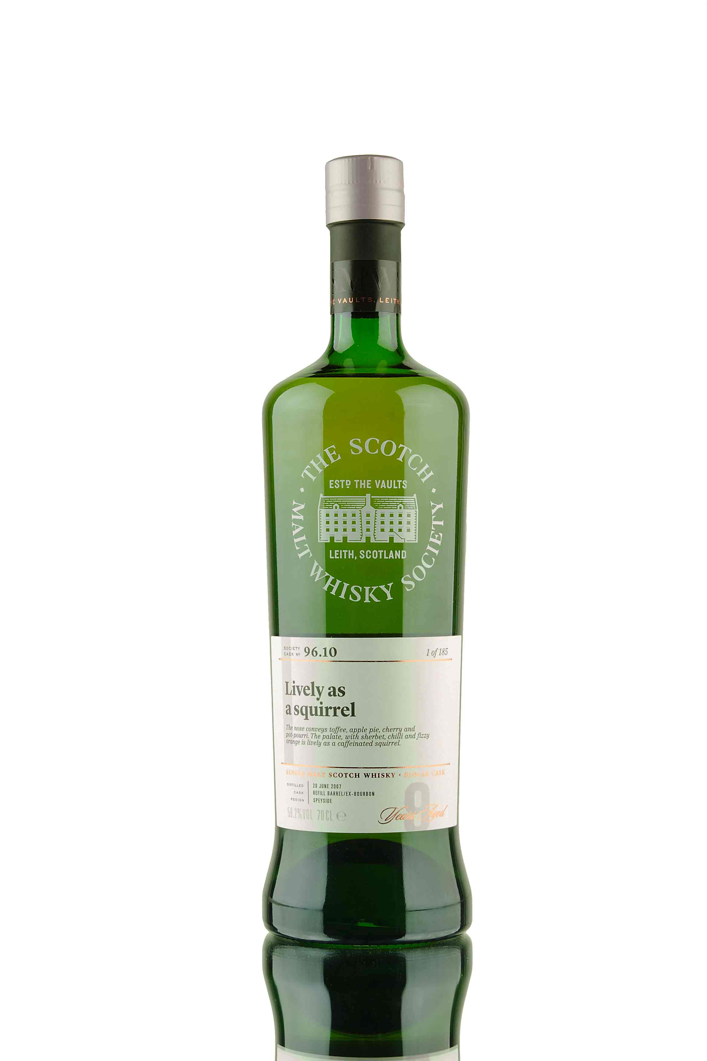 GlenDronach 9 Year Old - 2007 | SMWS 96.10 | Lively as a Squirrel