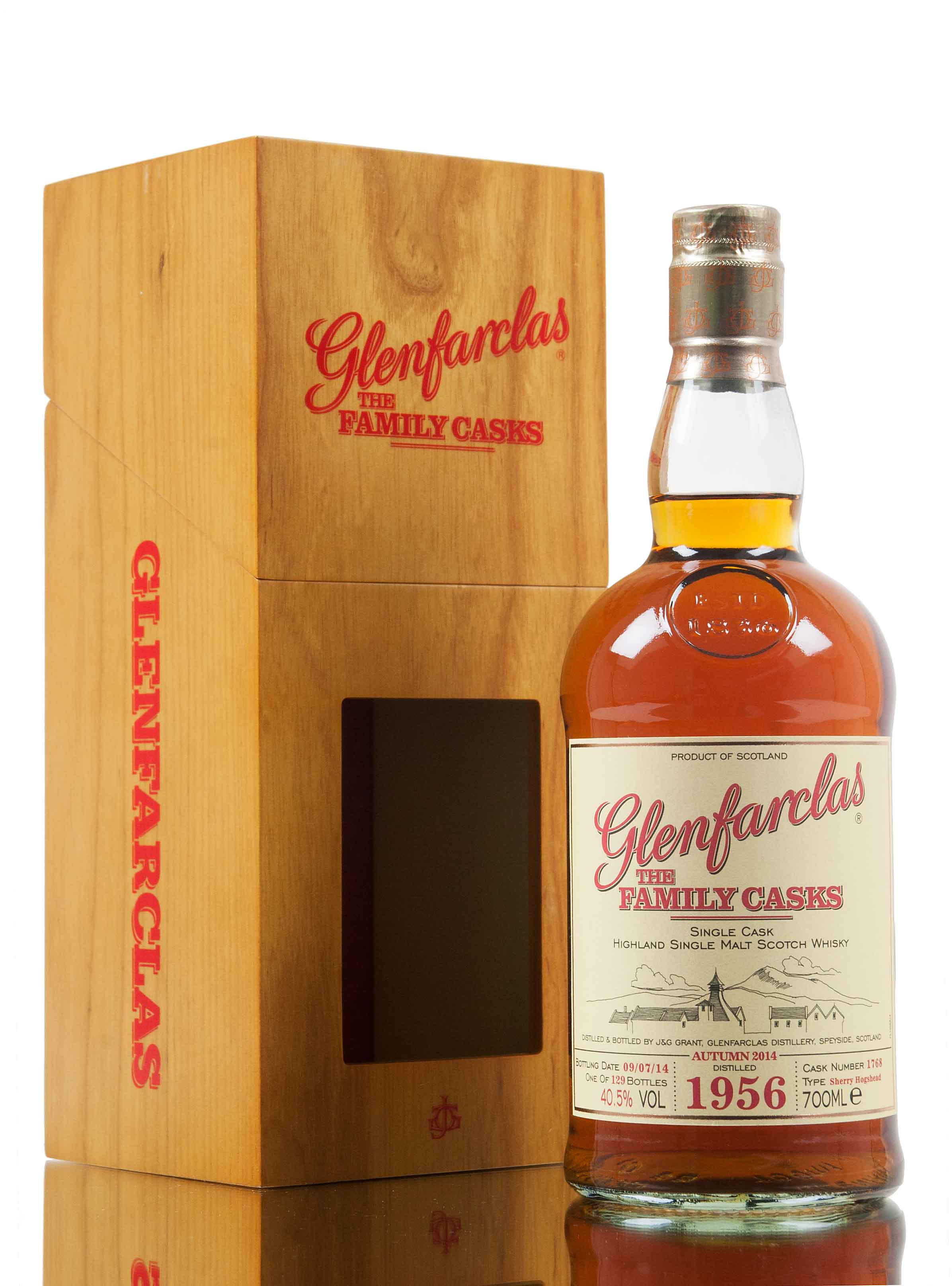 Glenfarclas 1956 / Family Casks Autumn 2014 / Cask #1768