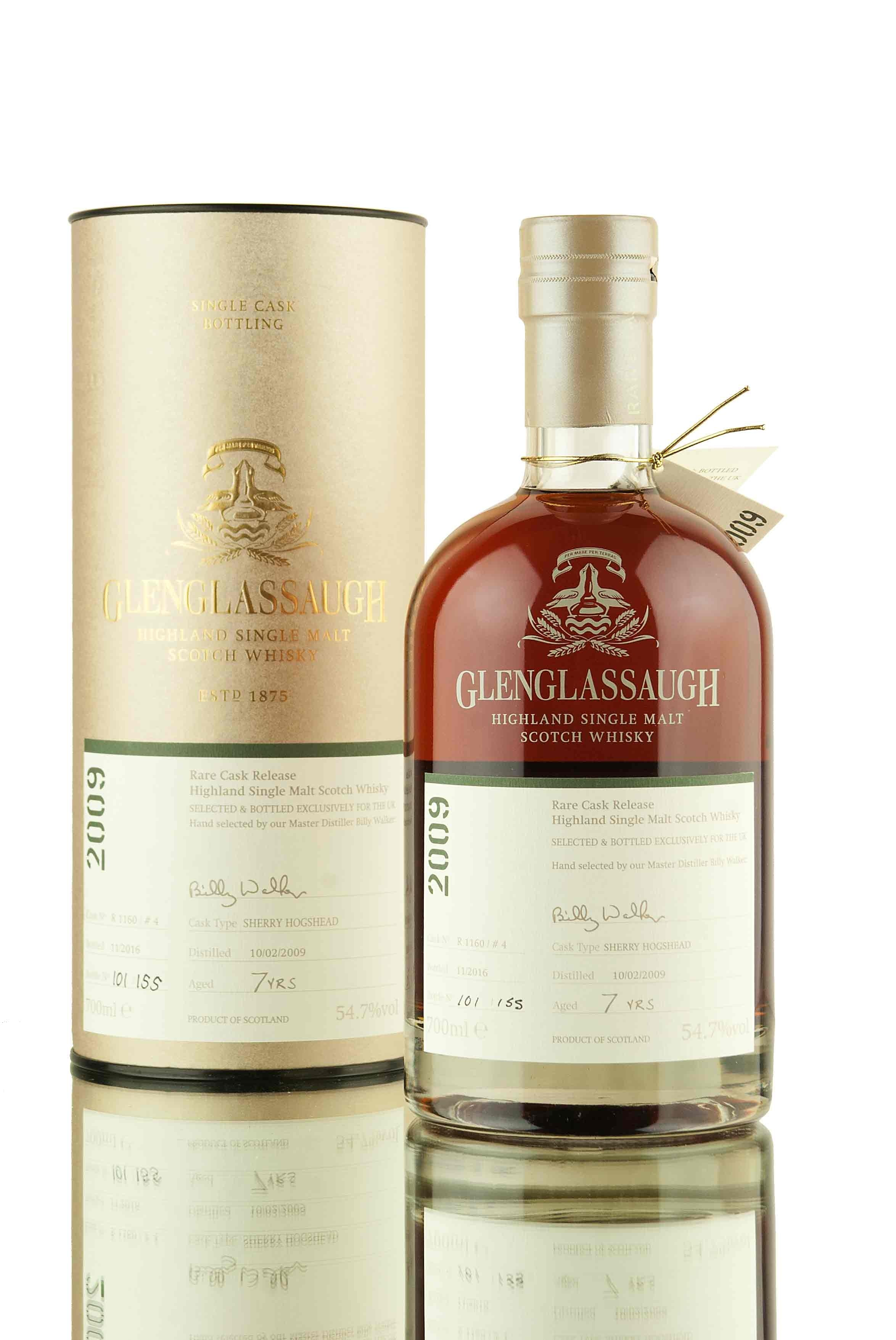 Glenglassaugh 7 Year Old - 2009 | Cask R1160/4 | UK Exclusive