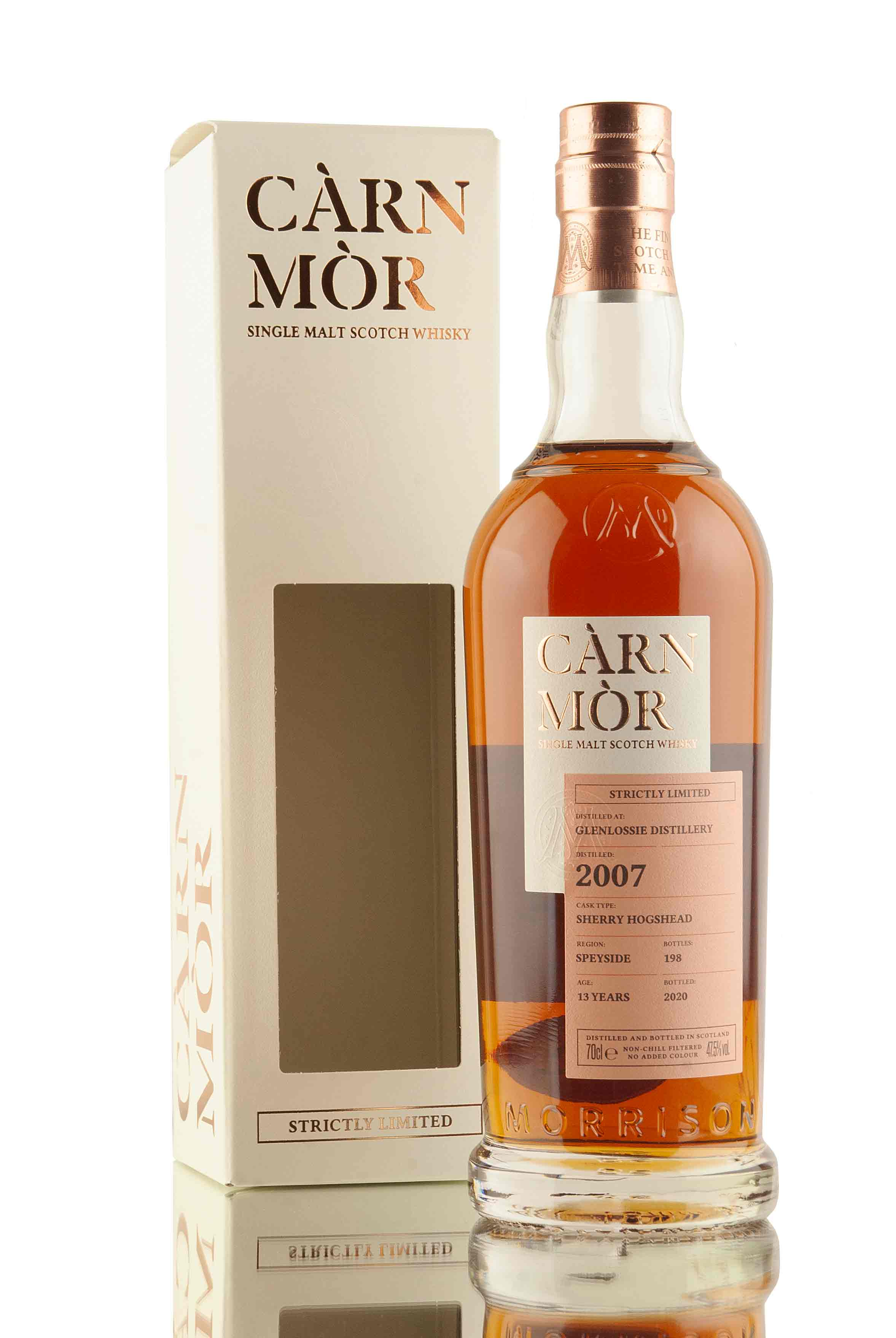 Glenlossie 13 Year Old - 2007 | Càrn Mòr Strictly Limited | Abbey Whisky