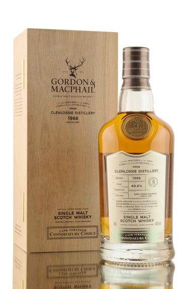 Glenlossie 32 Year Old - 1988 | Cask 3665 | Connoisseurs Choice (G&M) | Gordon & MacPhail | Abbey Whisky