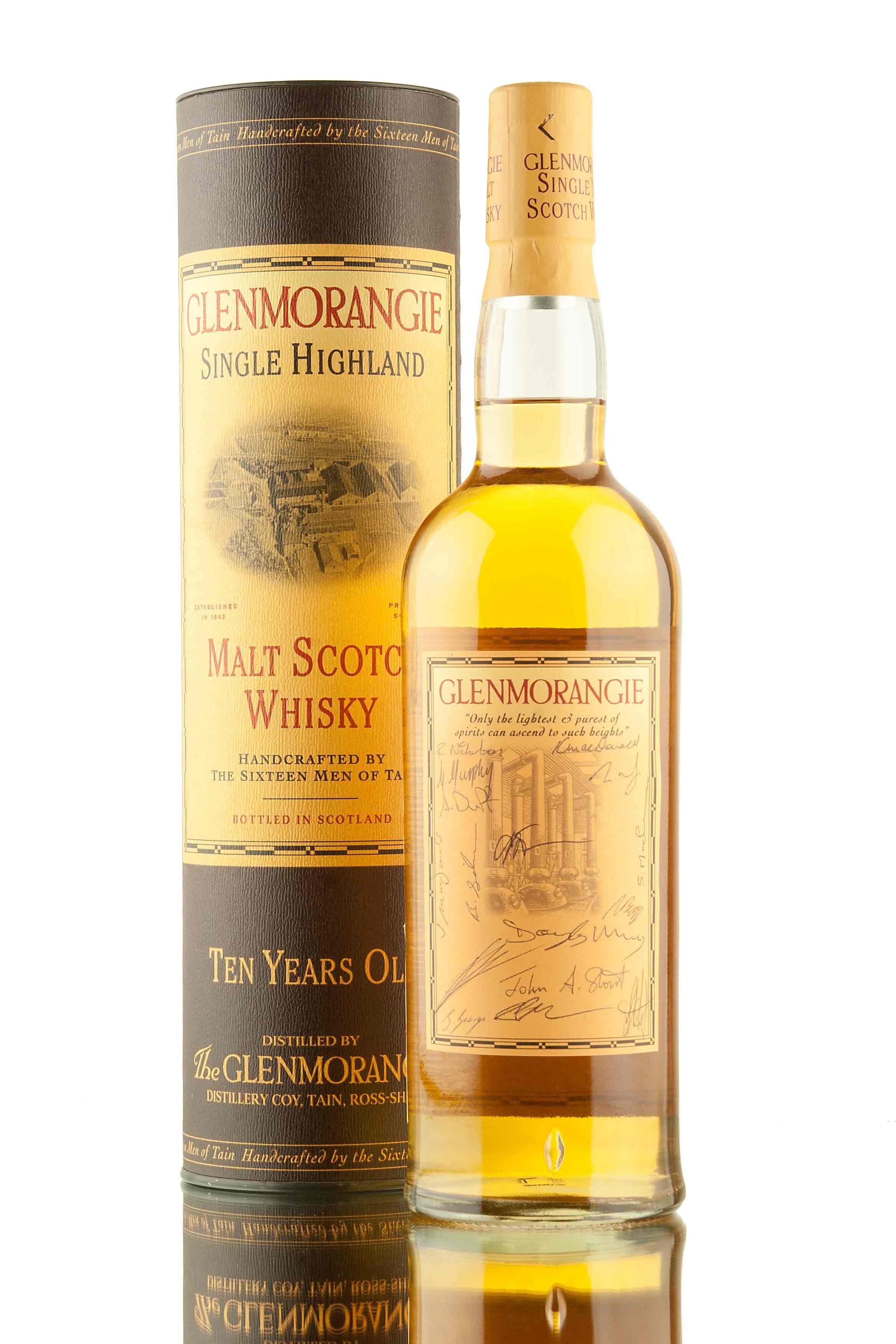 Glenmorangie Hand Signed By The Sixteen Men Of Tain