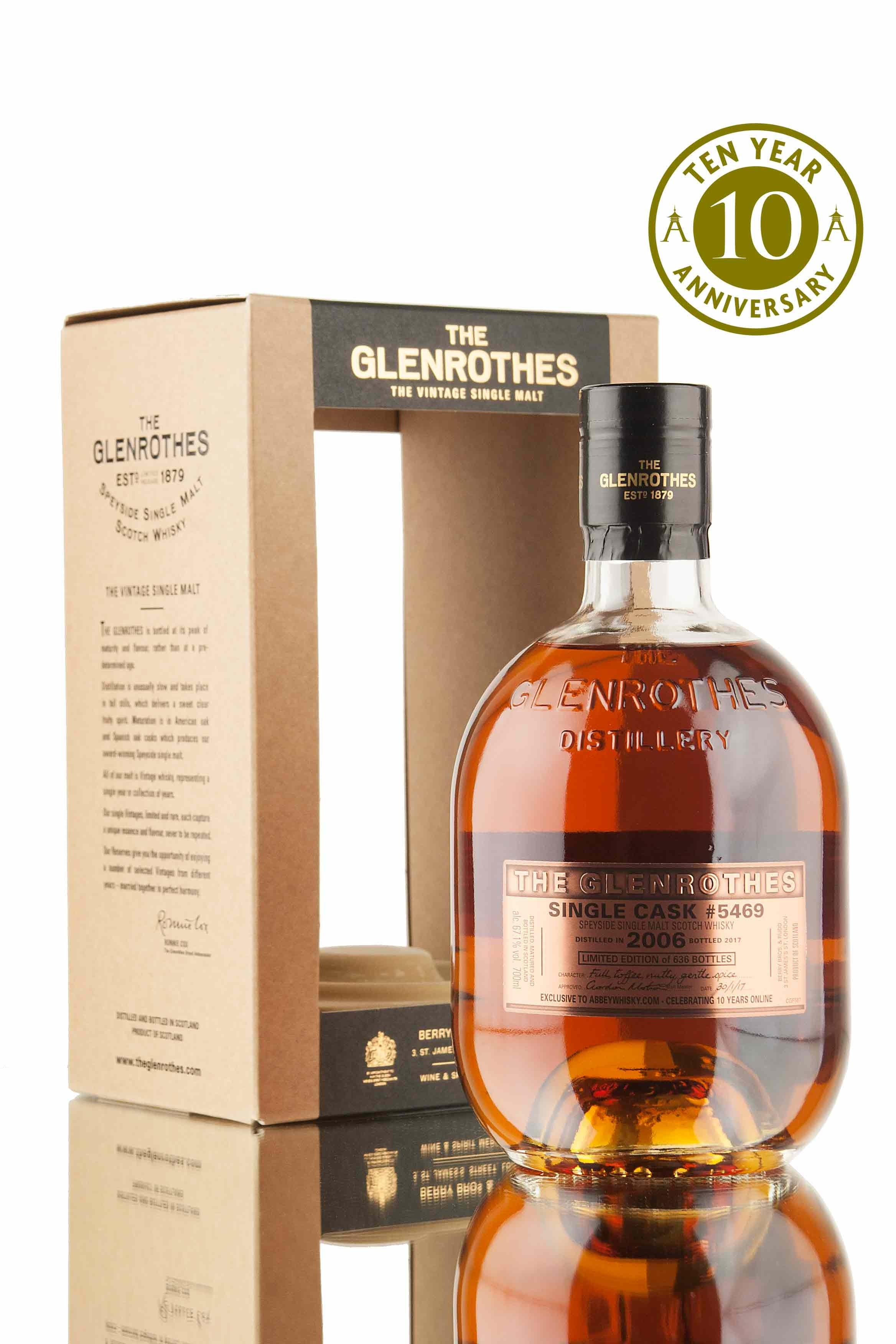 Glenrothes 2006 - Single Cask 5469 | AW 10th Anniversary