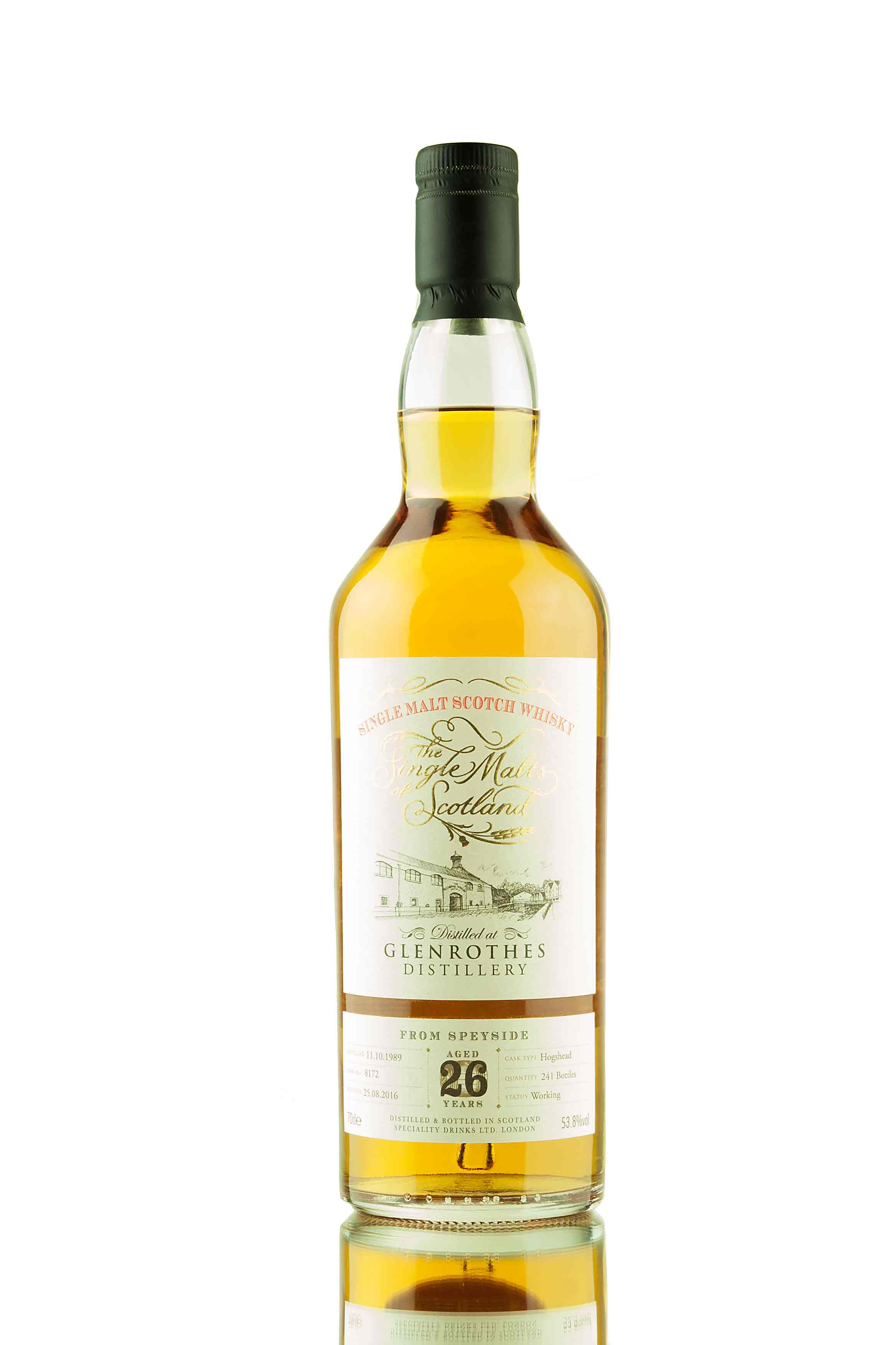 Glenrothes 26 Year Old - 1989 | Cask 8172 | The Single Malts of Scotland