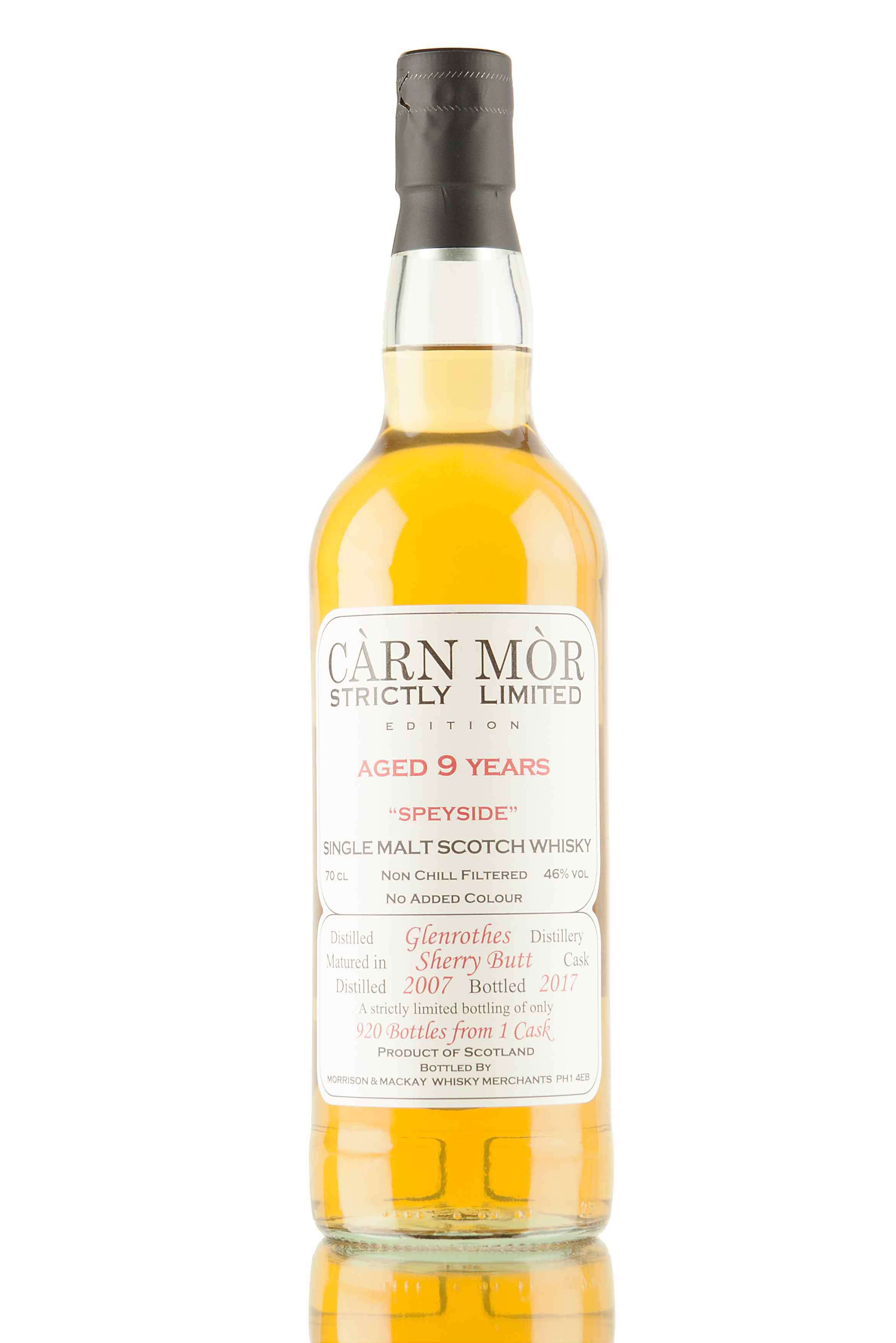 Glenrothes 9 Year Old - 2007 | Càrn Mòr Strictly Limited