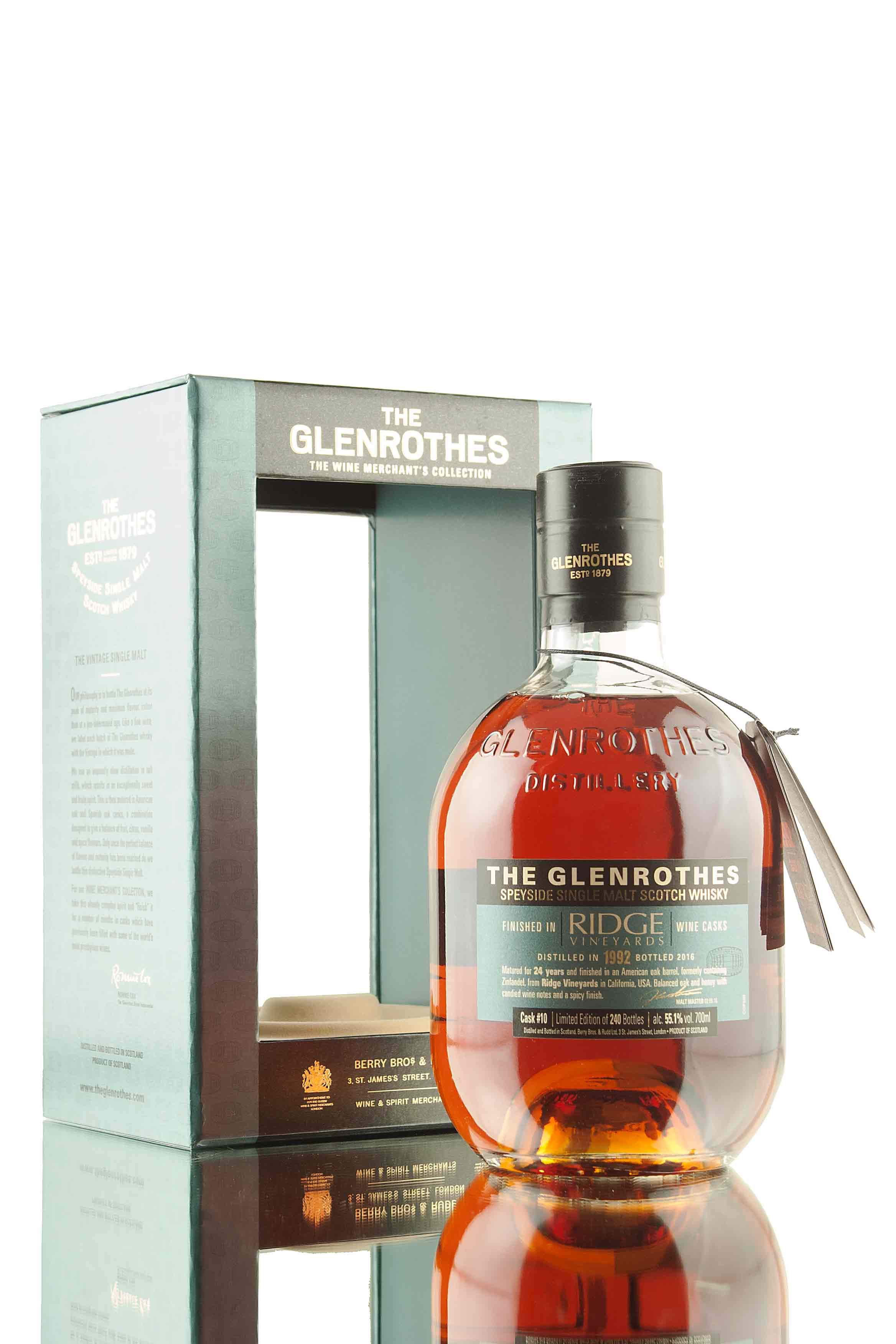 The Glenrothes Ridge Vineyards Cask #10 | Wine Merchant's Collection
