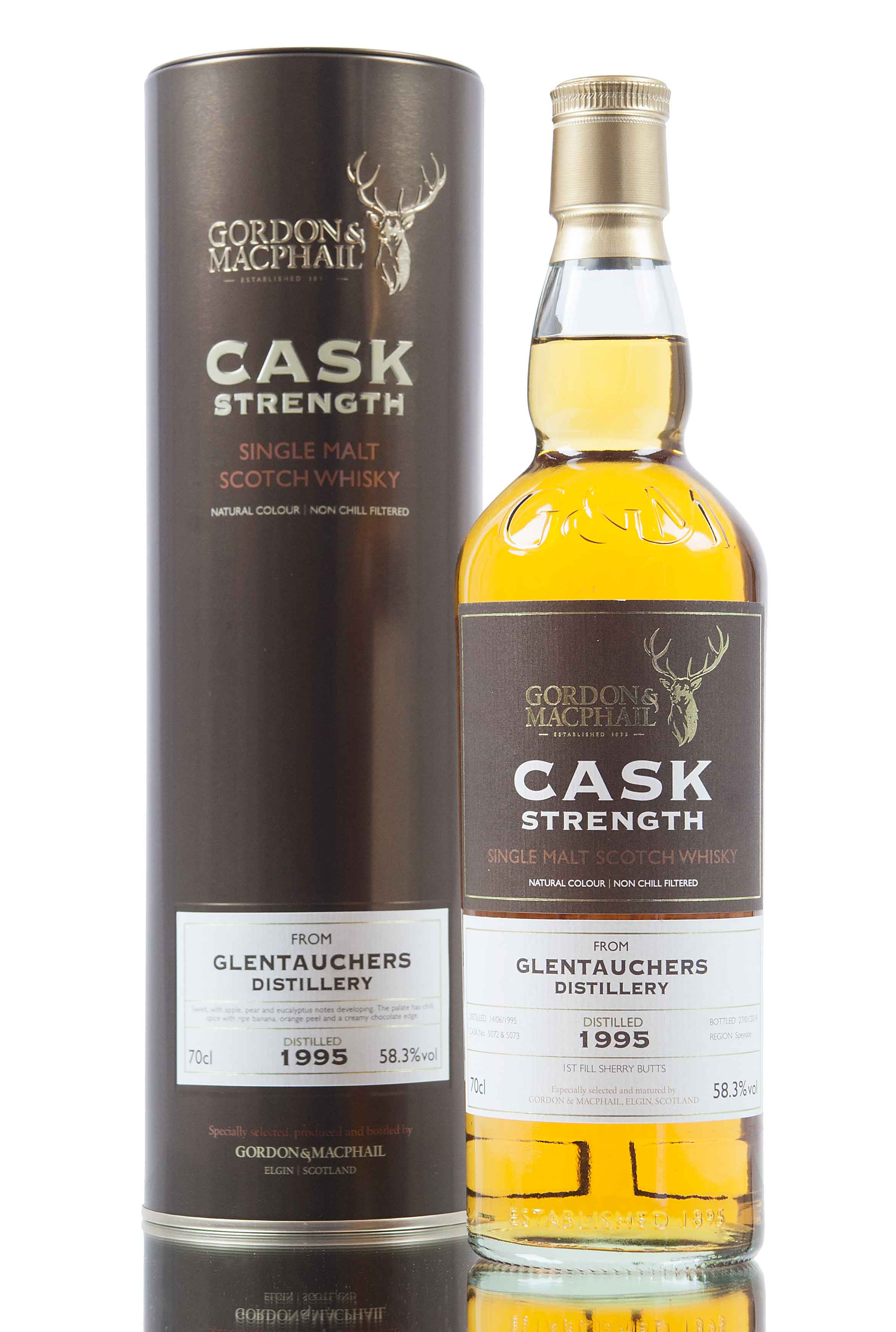 Glentauchers 18 Year Old - 1995 / Cask Strength / G&M
