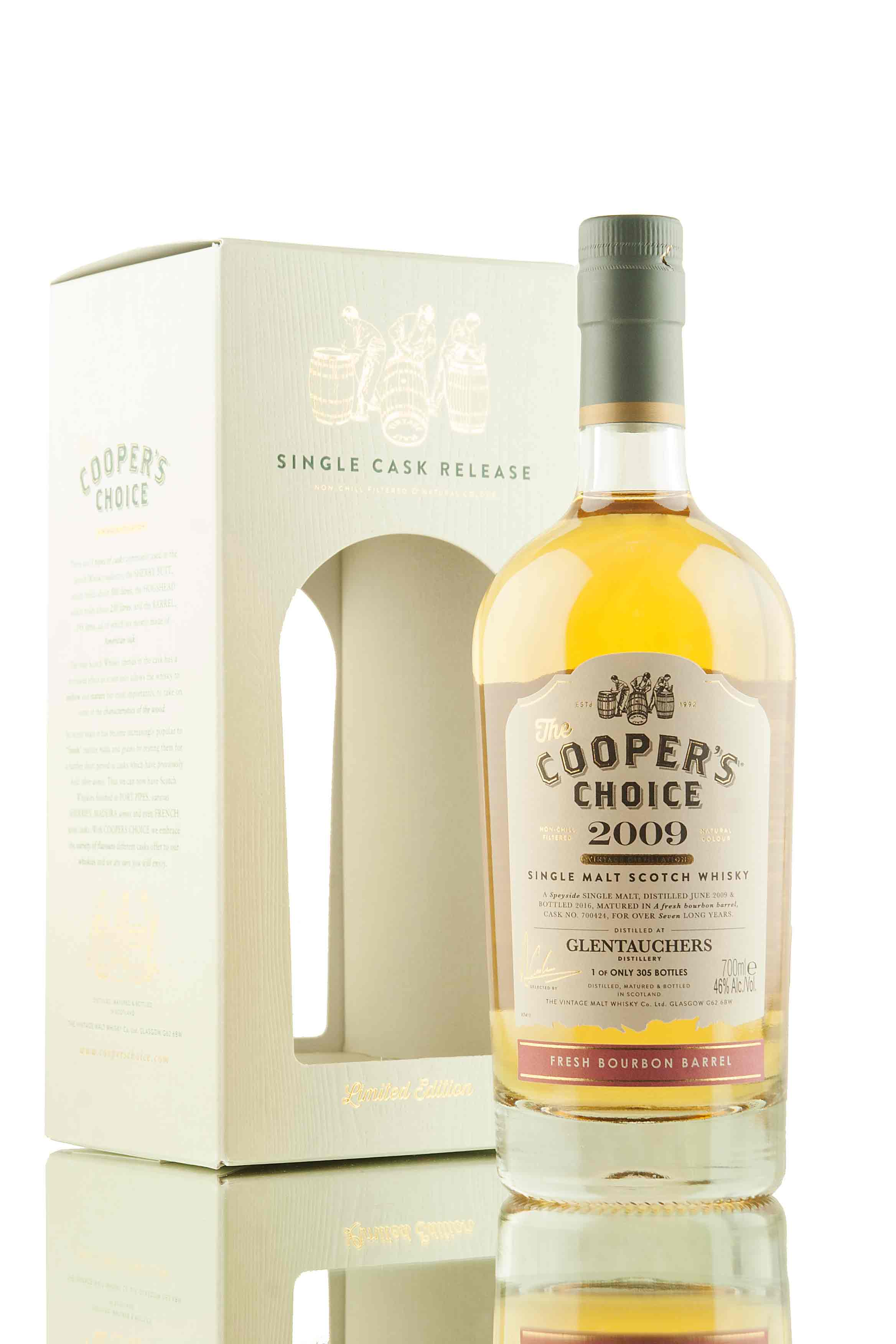 Glentauchers 7 Year Old - 2009 | Cask 700424 | The Cooper's Choice