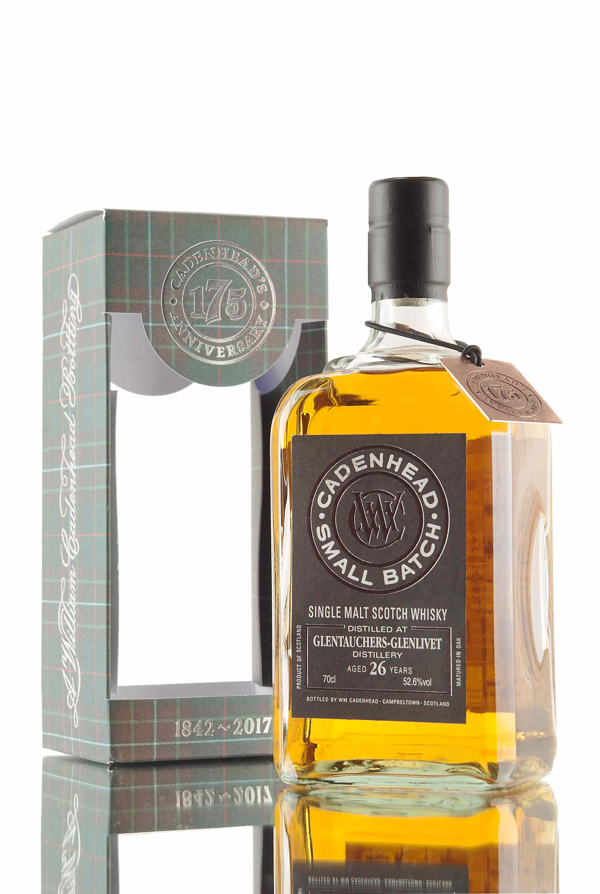 Glentauchers 26 Year Old - 1990 | (WM Cadenhead)