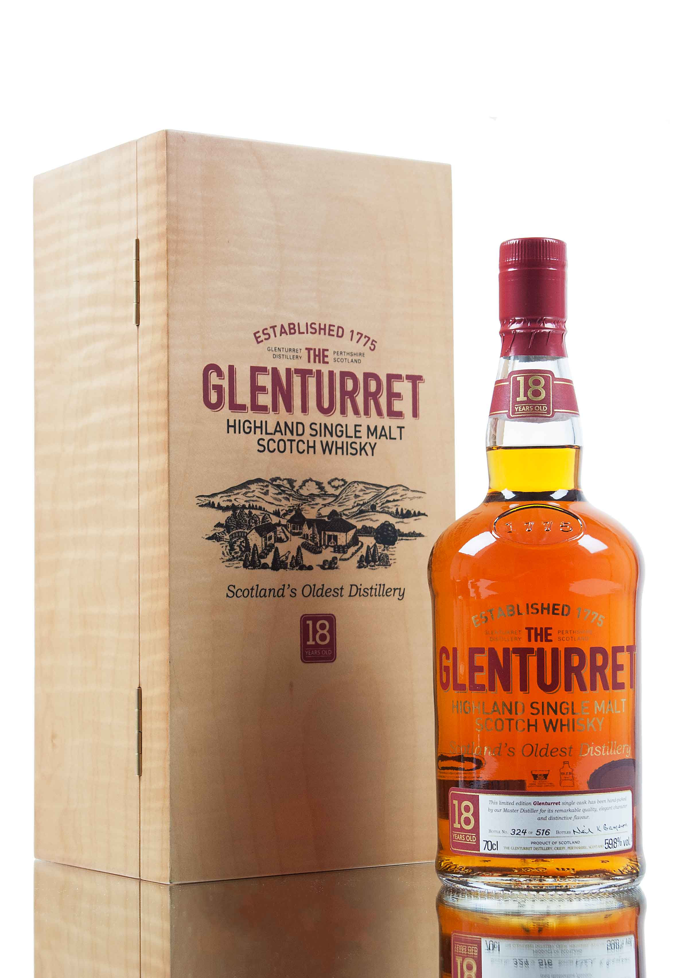 Glenturret 18 Year Old Single Cask / Vintage 1993