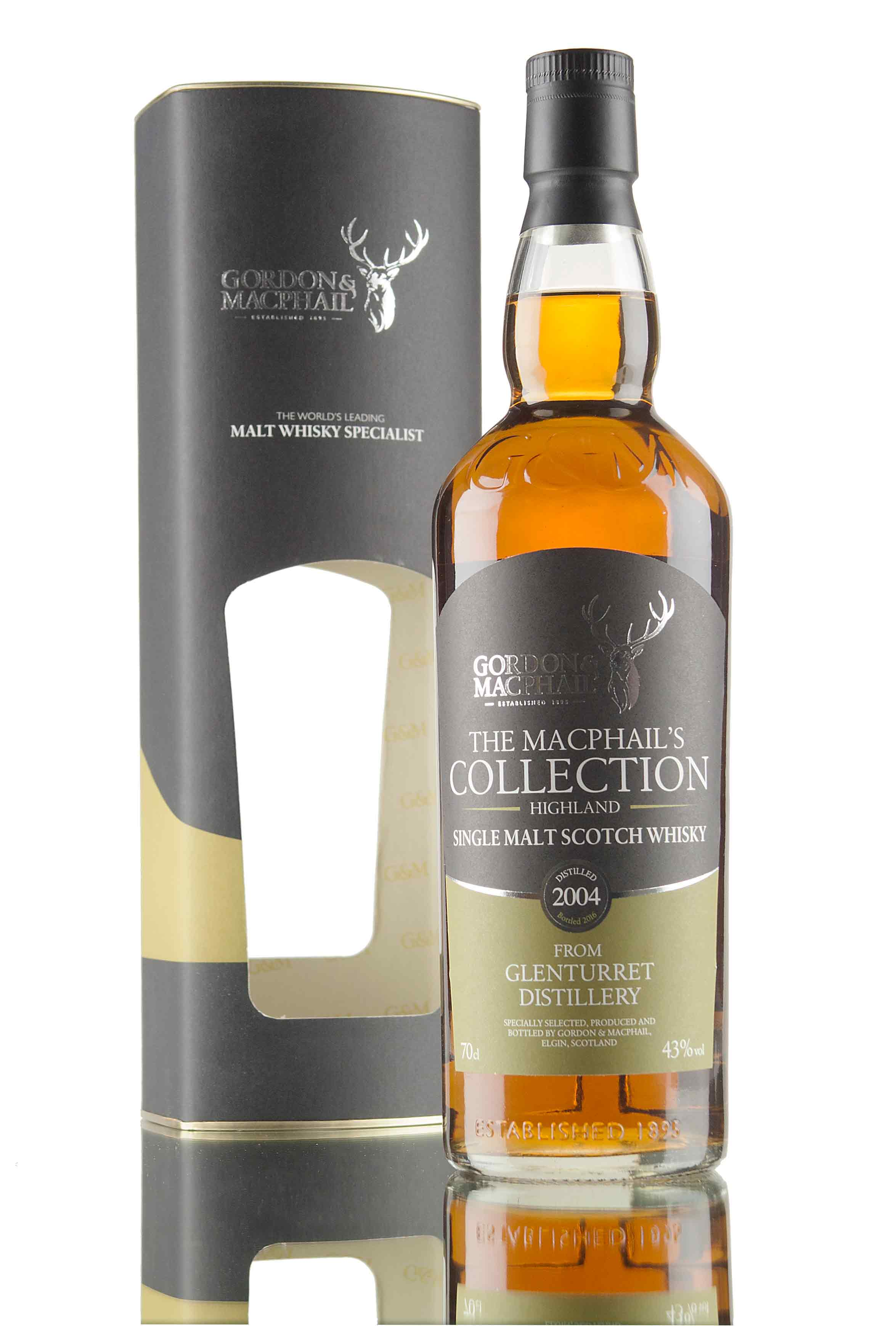 Glenturret 2004 - The MacPhail's Collection