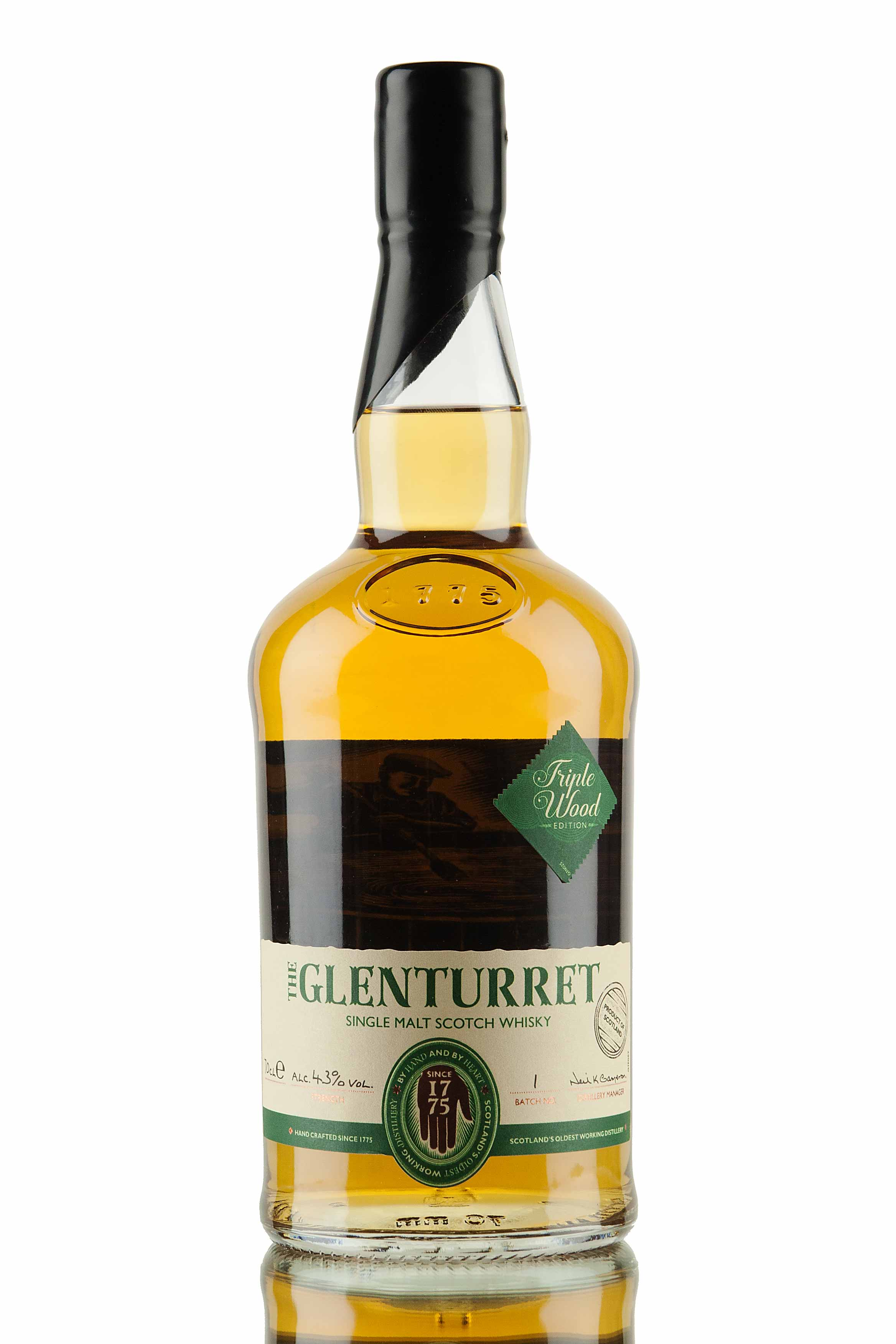Glenturret Triple Wood Edition Batch 1