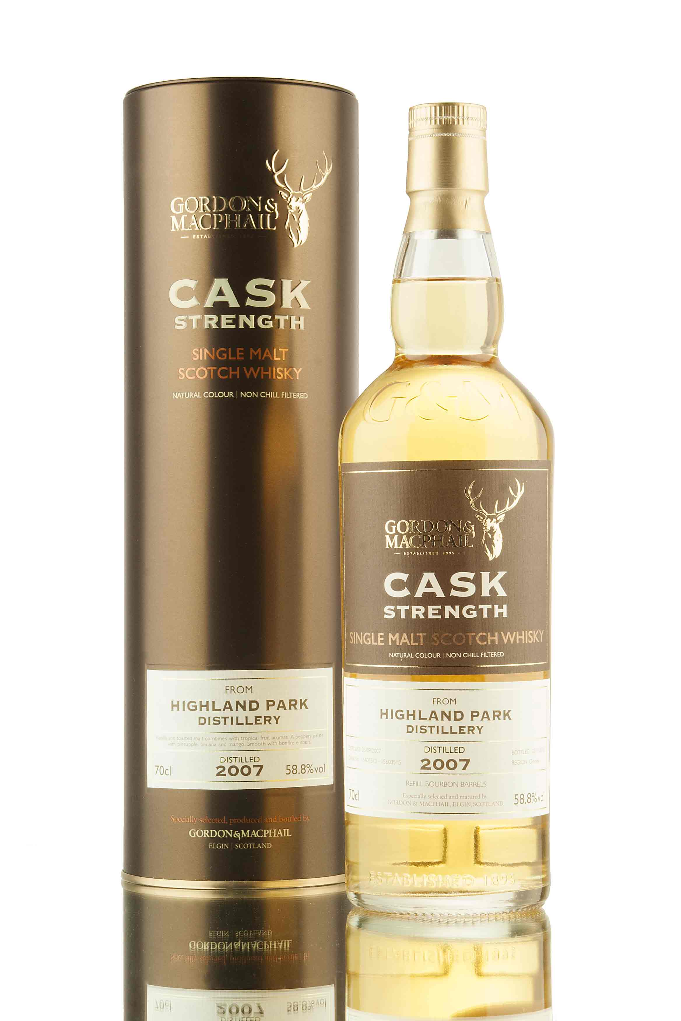 Highland Park 9 Year Old - 2007 | Cask Strength (G&M)