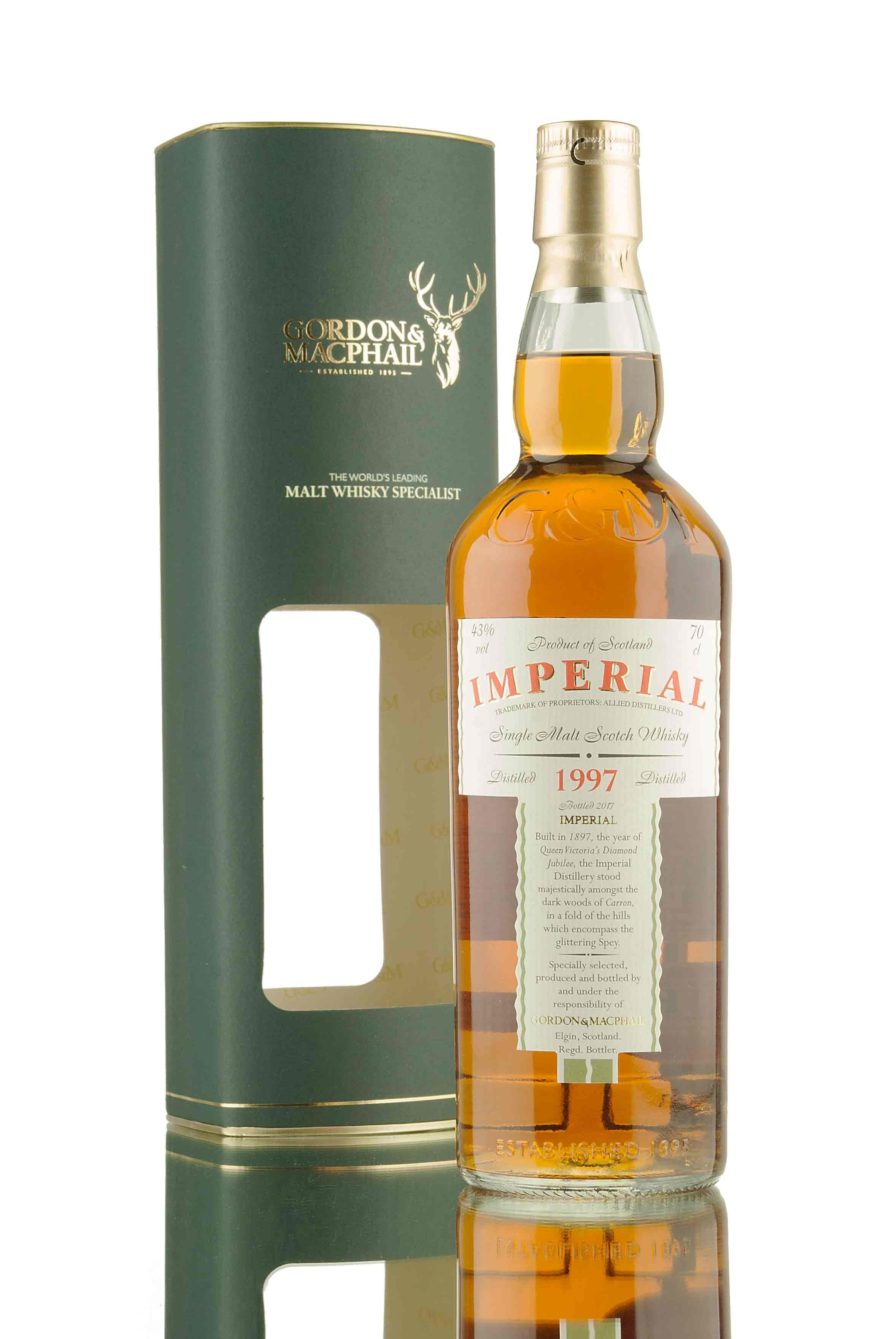 Imperial 1997 - Bottled 2017 | Gordon & MacPhail