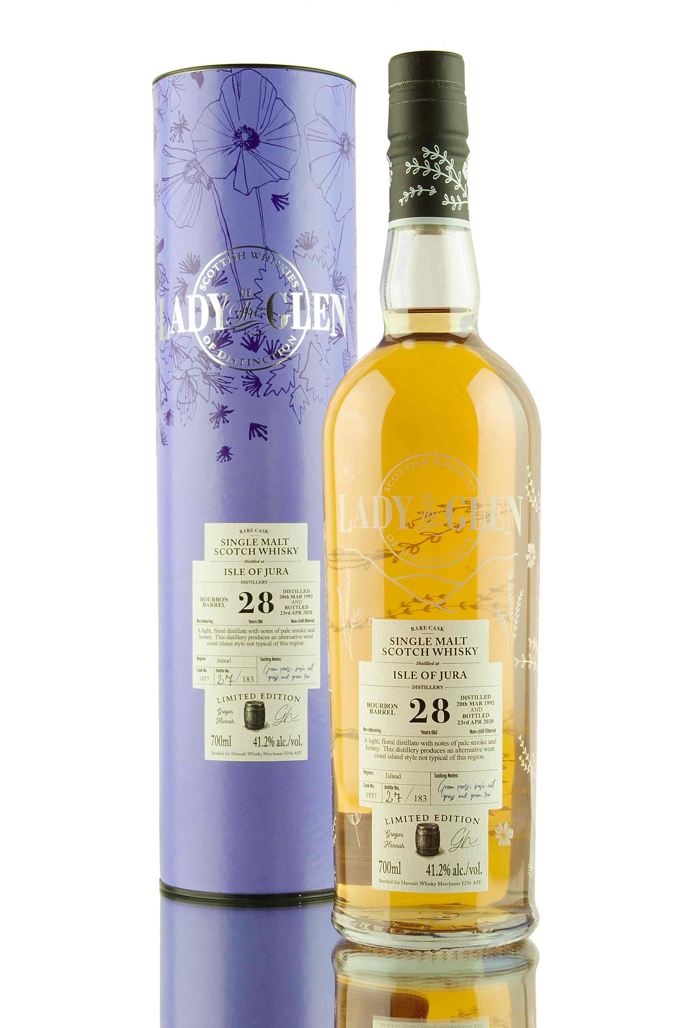 Jura 28 Year Old - 1992 | Cask 1857 | Lady of the Glen | Abbey Whisky