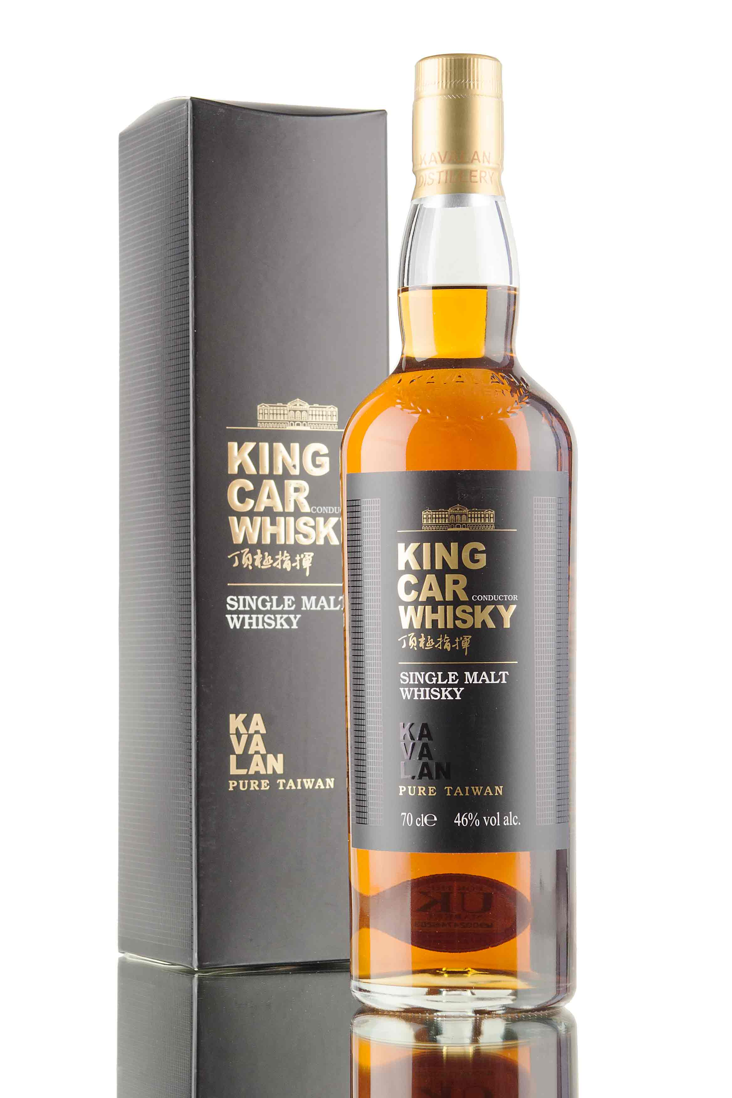 Kavalan King Car Conductor Whisky