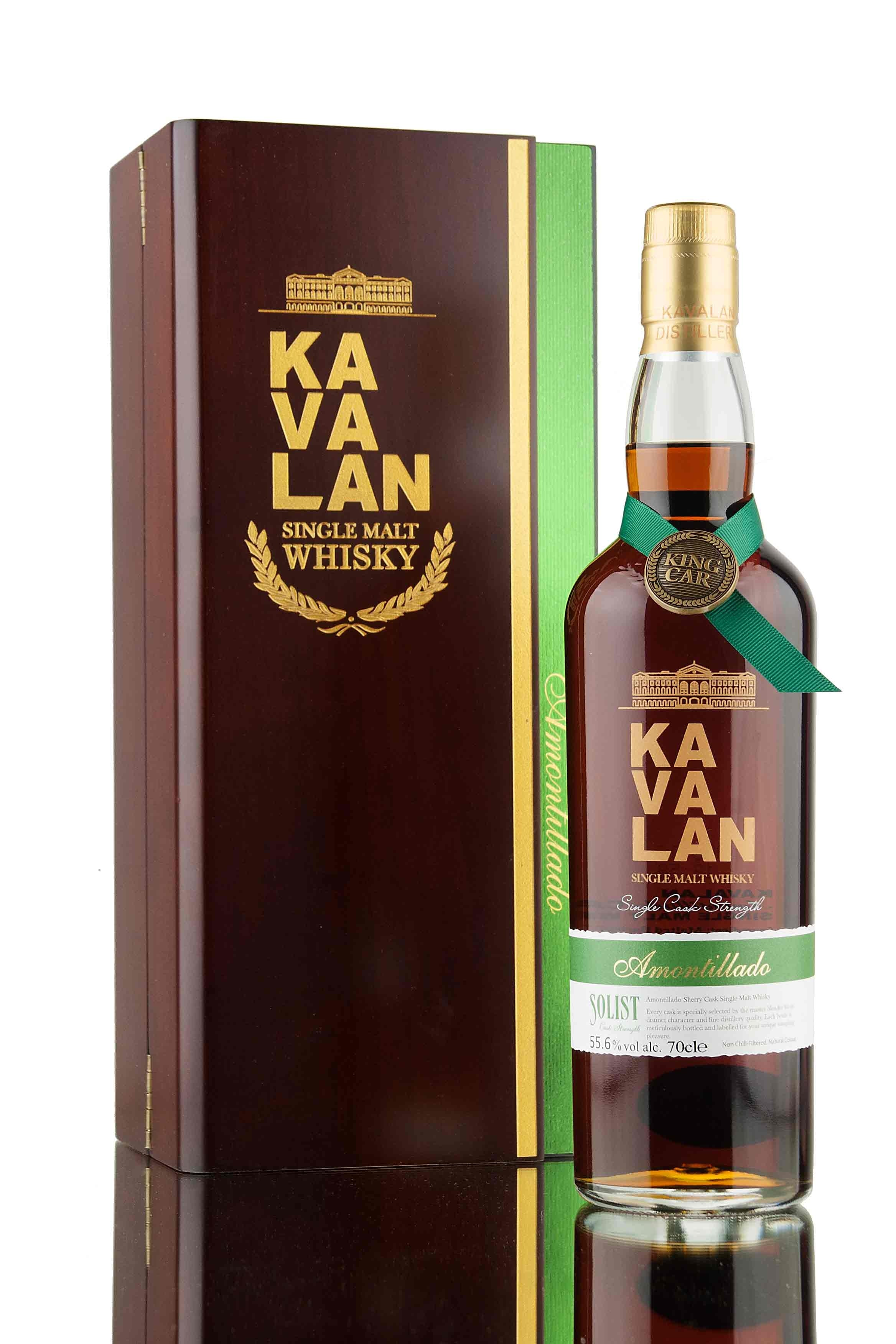 Kavalan Solist Amontillado Cask AM100618011A
