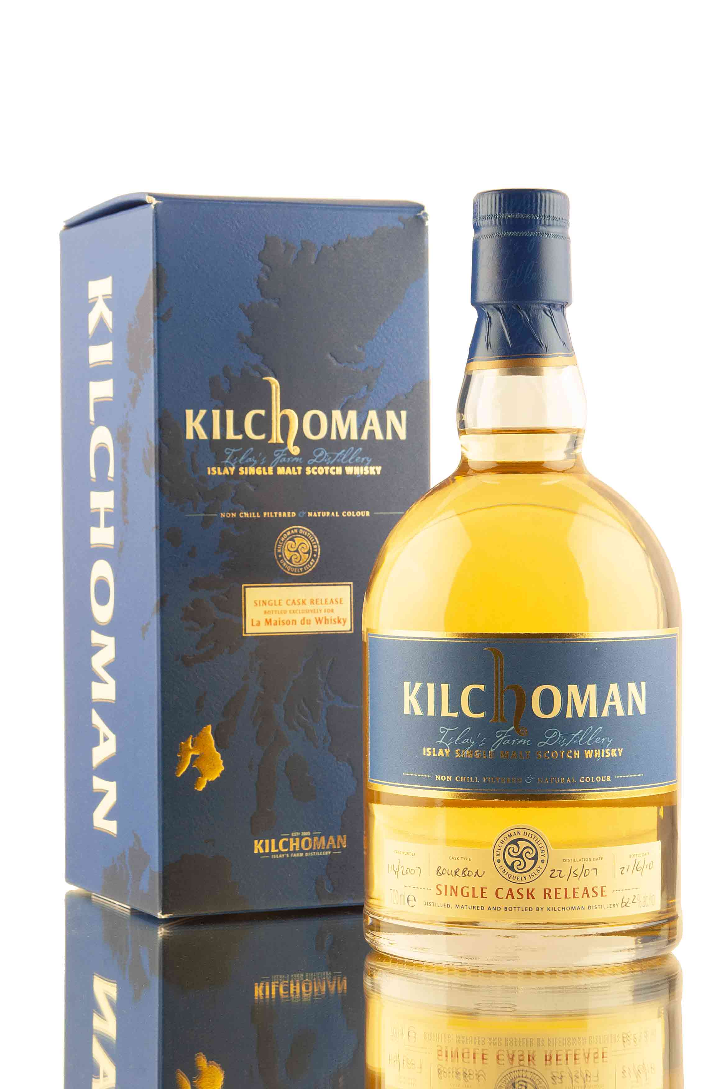 Kilchoman Single Cask 114/2007 | LMDW | Abbey Whisky