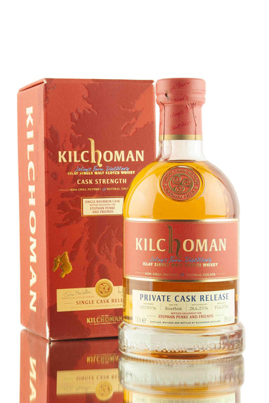 Kilchoman 10 Year Old - 2006 | Cask 120/2006 | Private Cask Release | Abbey Whisky