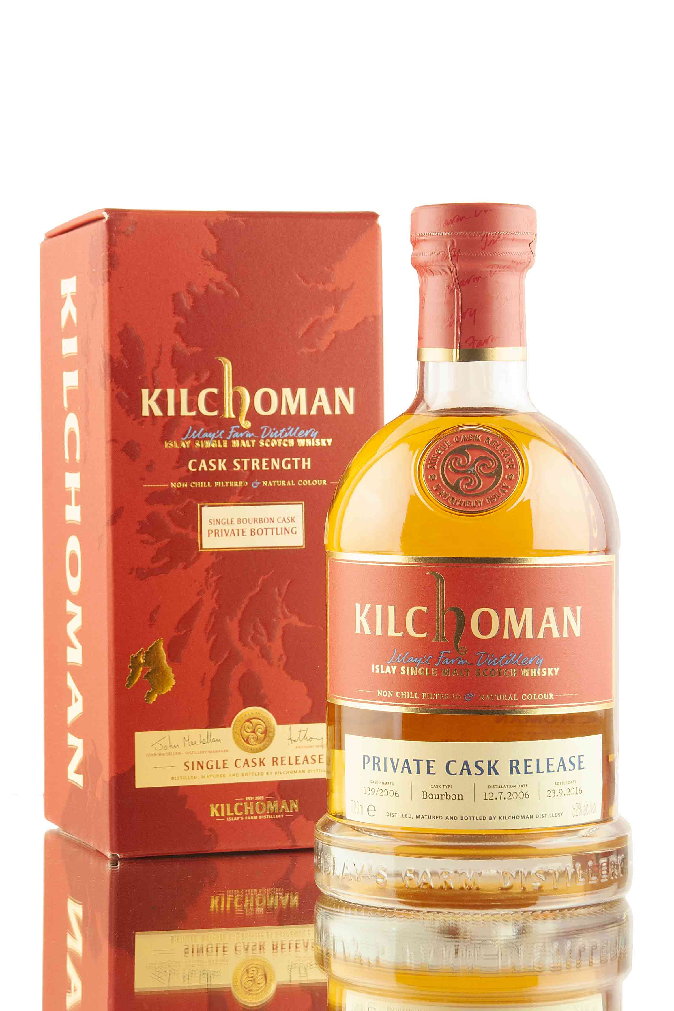 Kilchoman 10 Year Old - 2006 / Private Cask Release #139/2006 | Abbey Whisky
