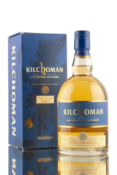 Kilchoman 2007 Vintage | Cask 334/07 | Bottled for Belgium | Abbey Whisky