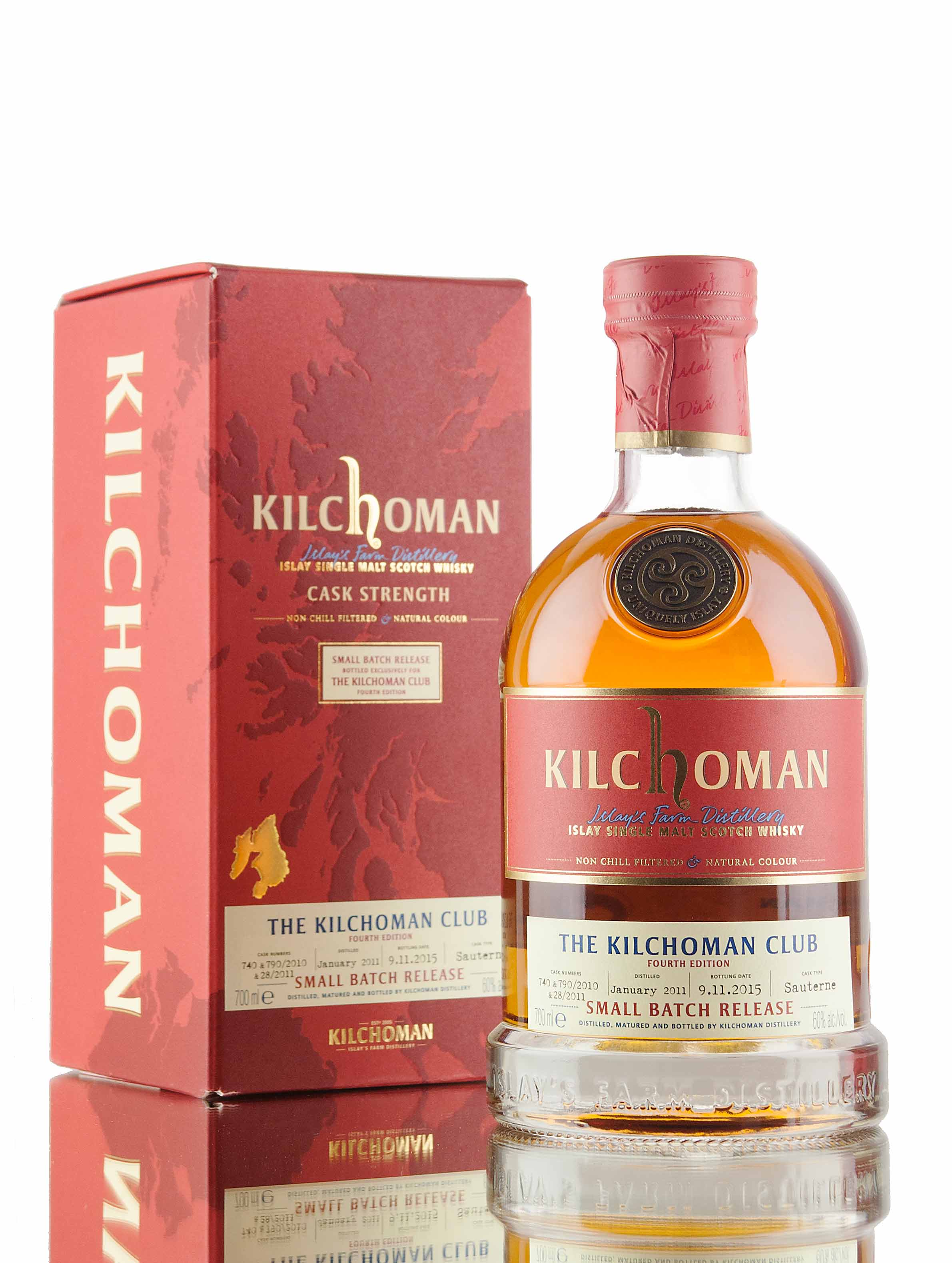 Kilchoman Club Fourth Edition / Sauterne Cask