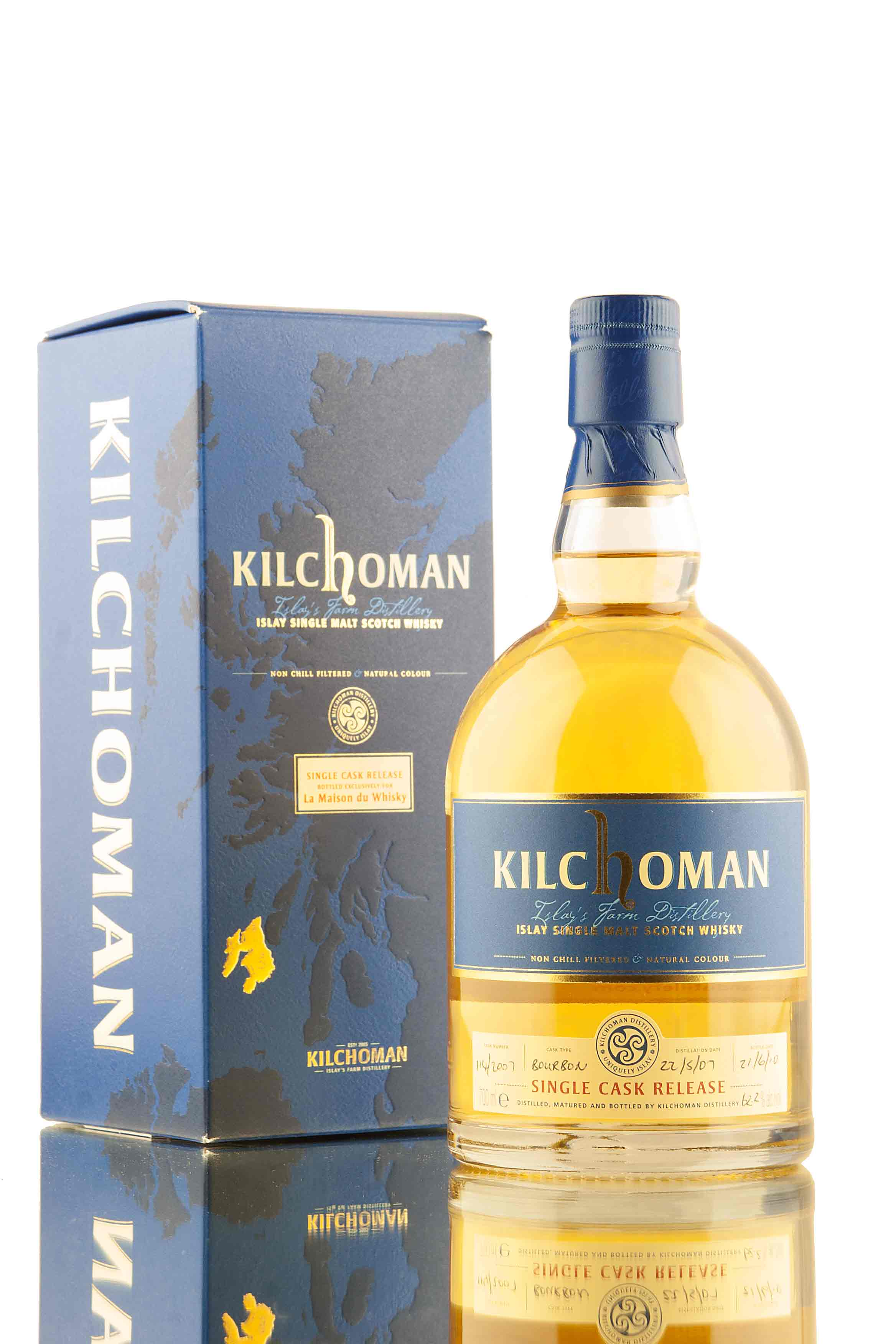 Kilchoman Single Cask 114/2007 | LMDW