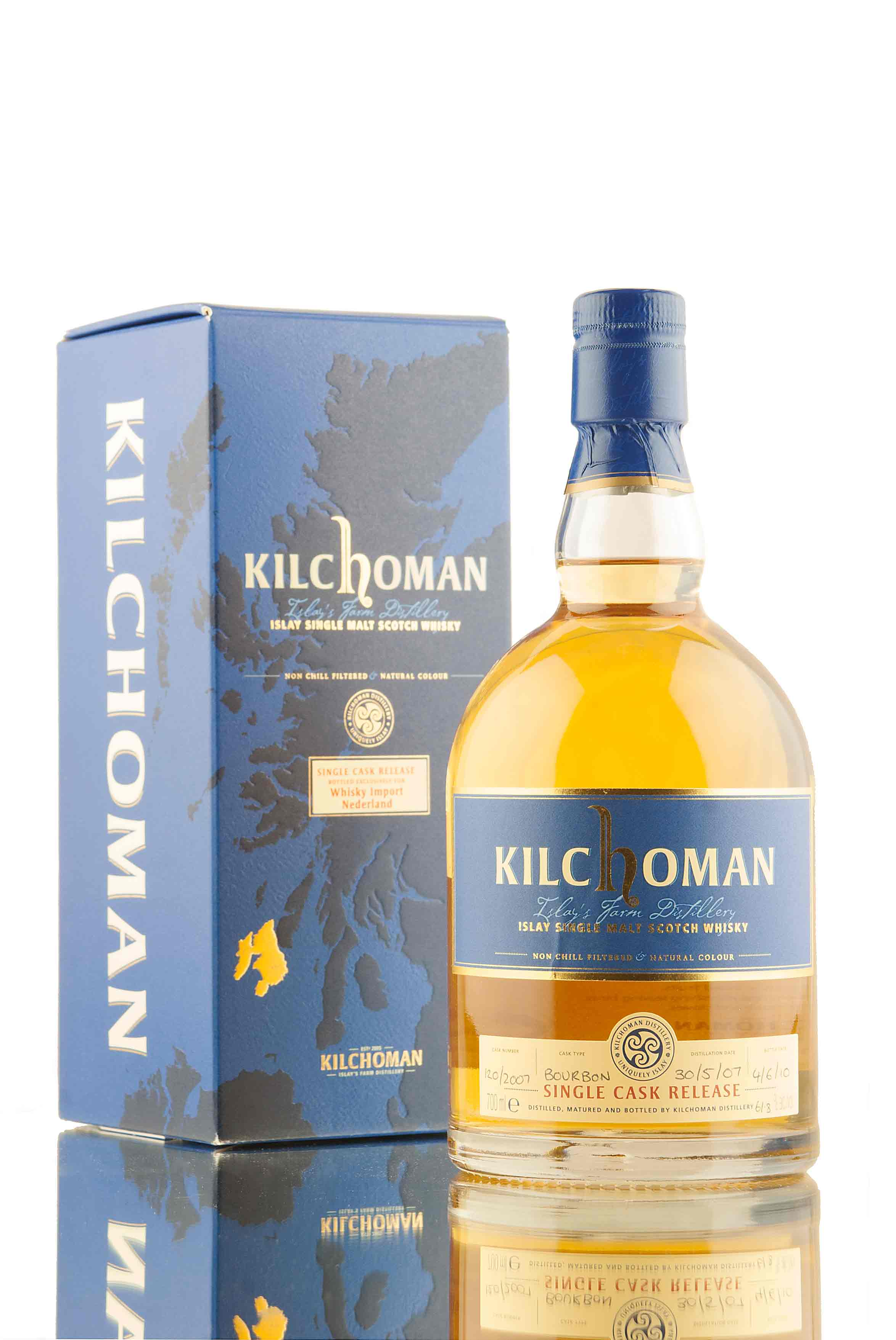 Kilchoman Single Cask 120 2007 / Whisky Import Nederland