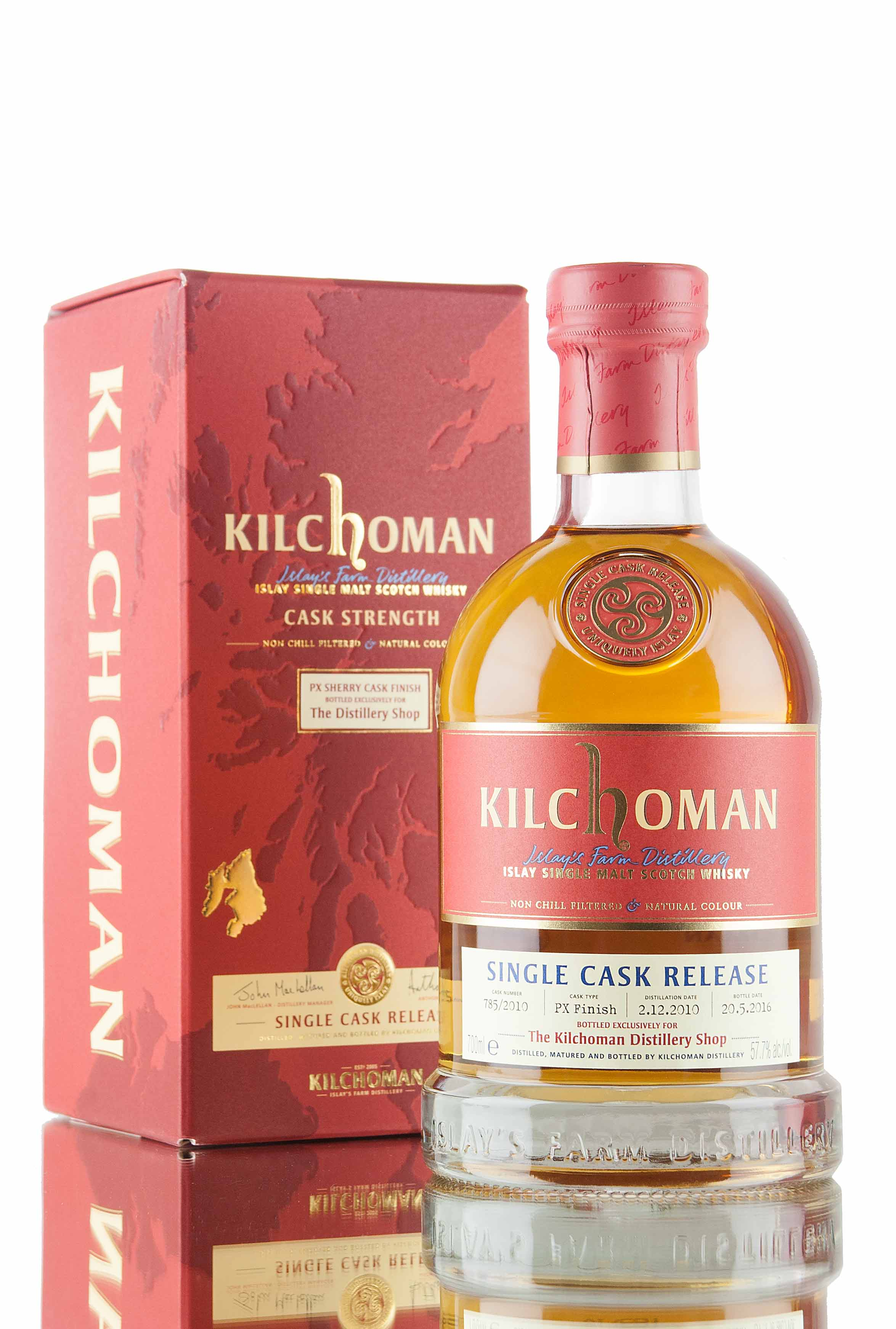 Kilchoman Single Cask - Distillery Shop Exclusive
