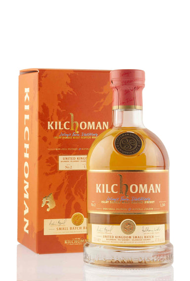 Kilchoman Small Batch Release No.2 (UK) | Abbey Whisky