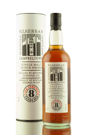 Kilkerran 8 Year Old Cask Strength - 56.9% | Abbey Whisky