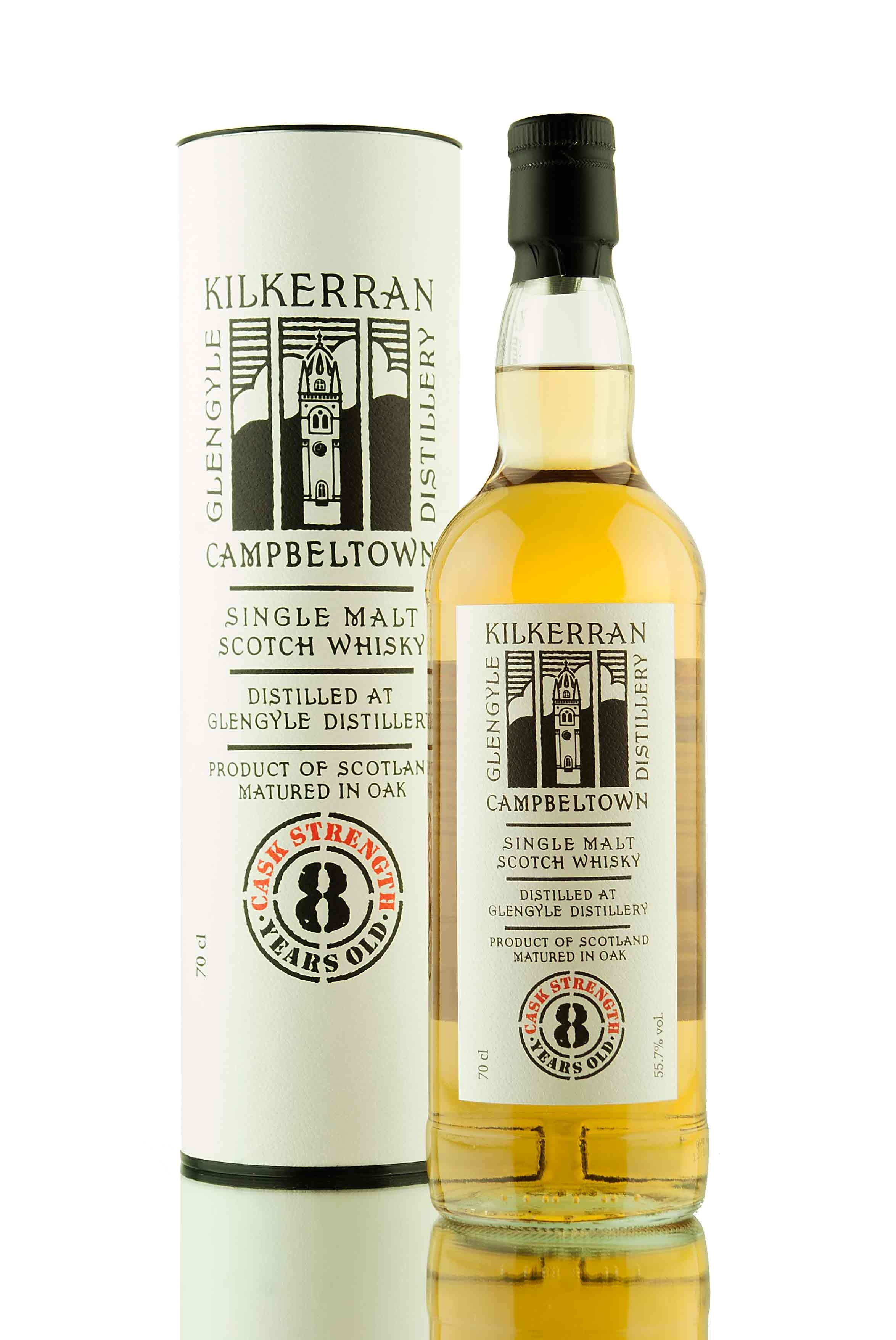 Kilkerran 8 Year Old Cask Strength | 2nd Edition